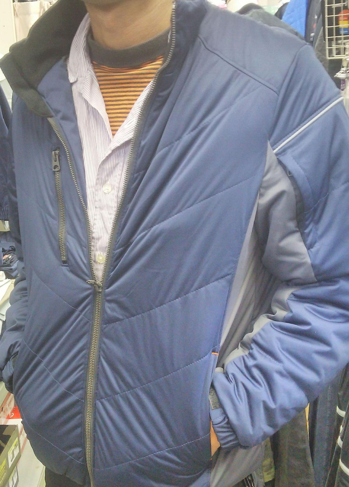G.GROUND 44603 防風ブルゾン ¥2,990(税込) 軽量なのに、しっかり防風するブルゾン!!
