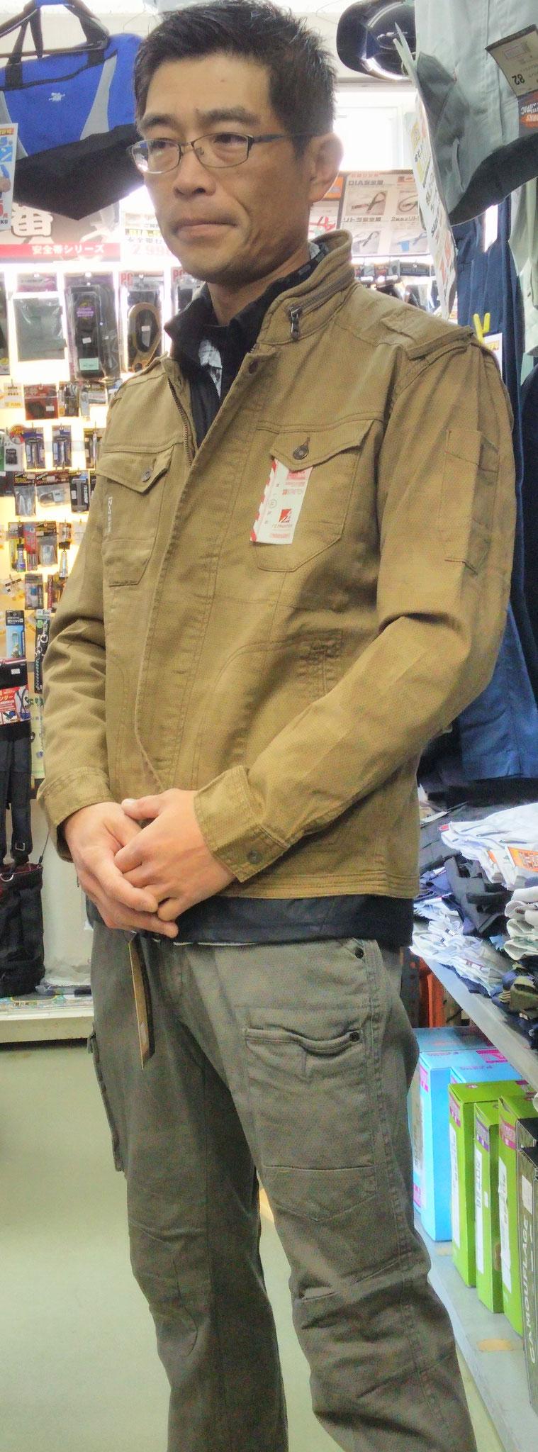 I'Z FRONTIER 7250 SERIES ~アイズフロンティア~ デジタル迷彩柄着てみました。