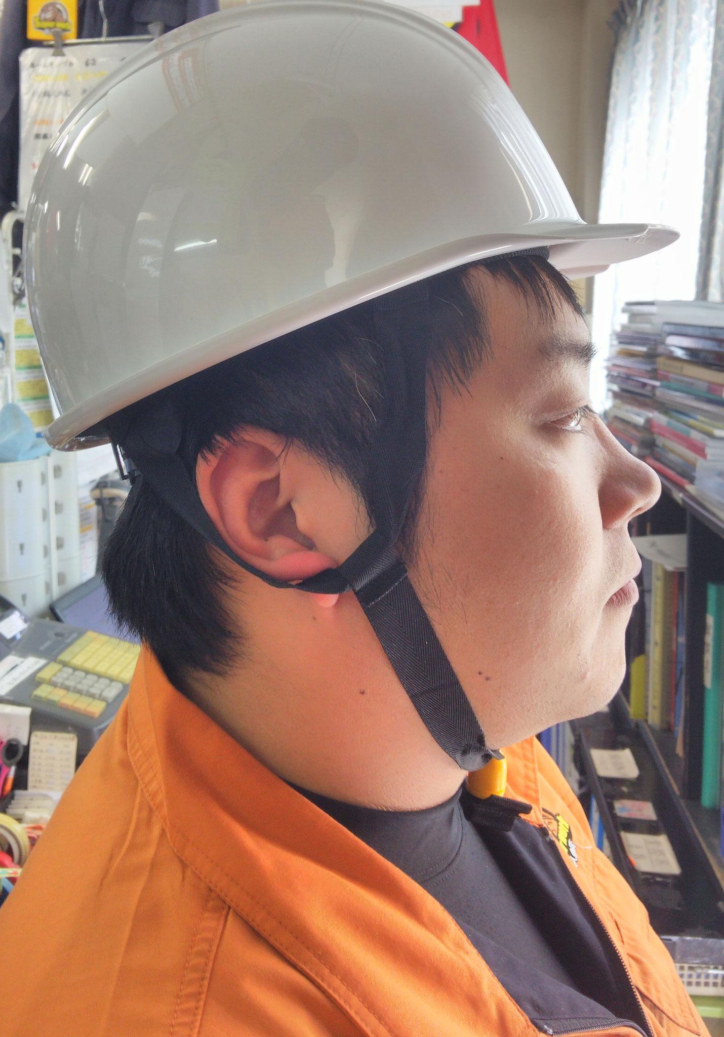 KAGAヘルメット アメリカン型BS-1Pライナー入¥1,595(税込)右側