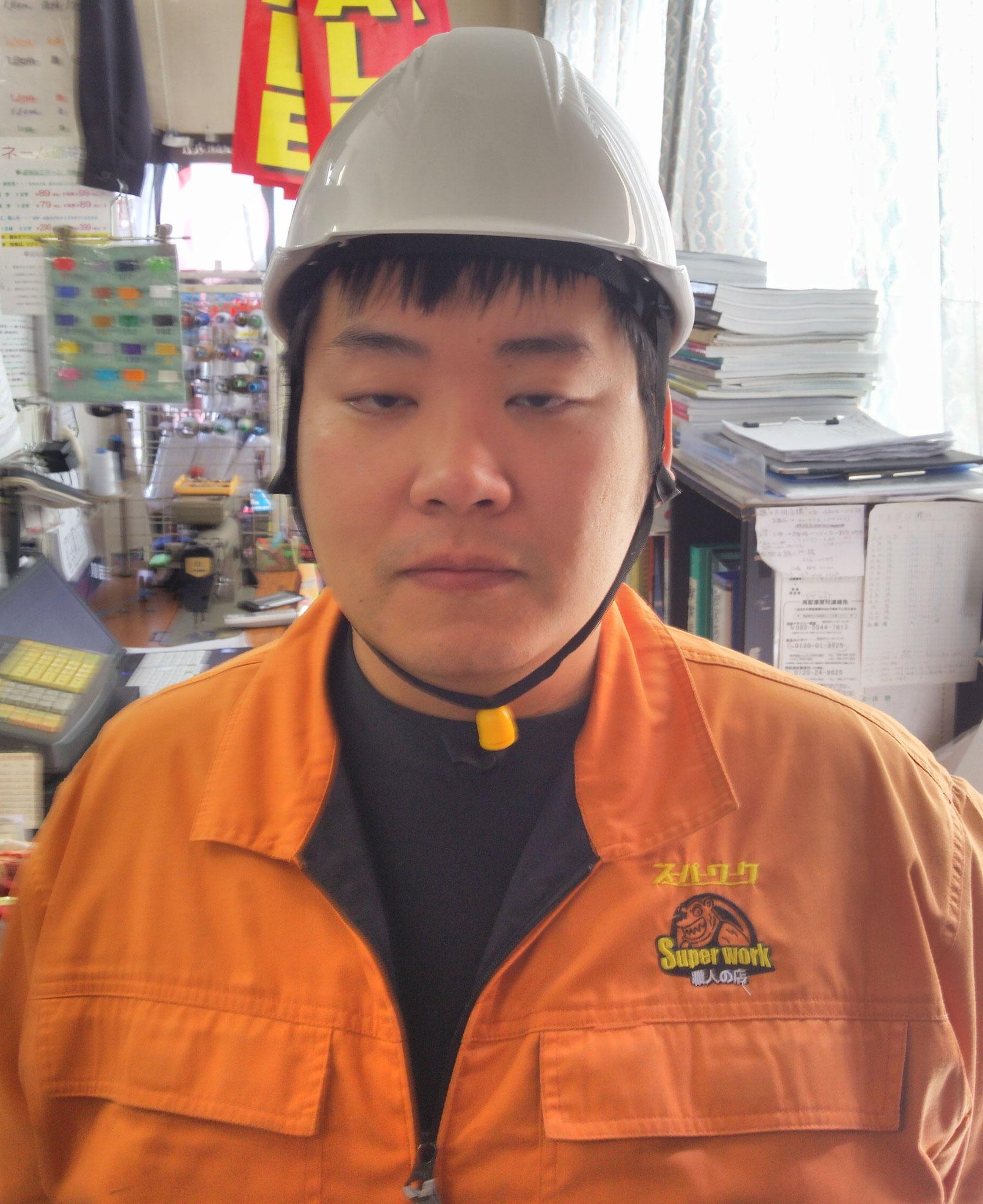 KAGAヘルメット アメリカン型BS-1Pライナー入¥1,595(税込)正面