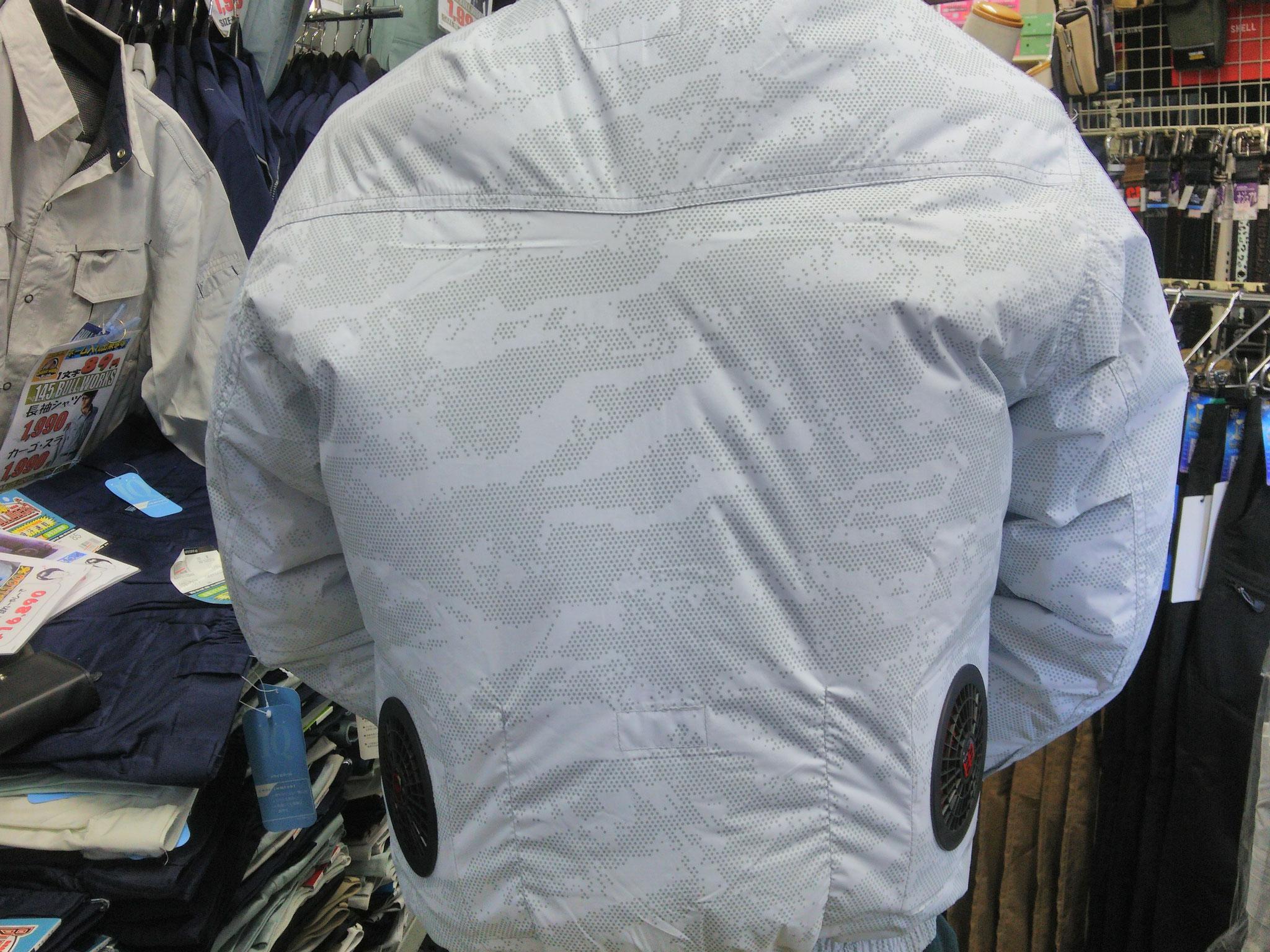 HOOH(鳳皇)の裏チタン空調服~快適ウェア~着てみました。風が体中を駆け巡る爽快感がいいですね。