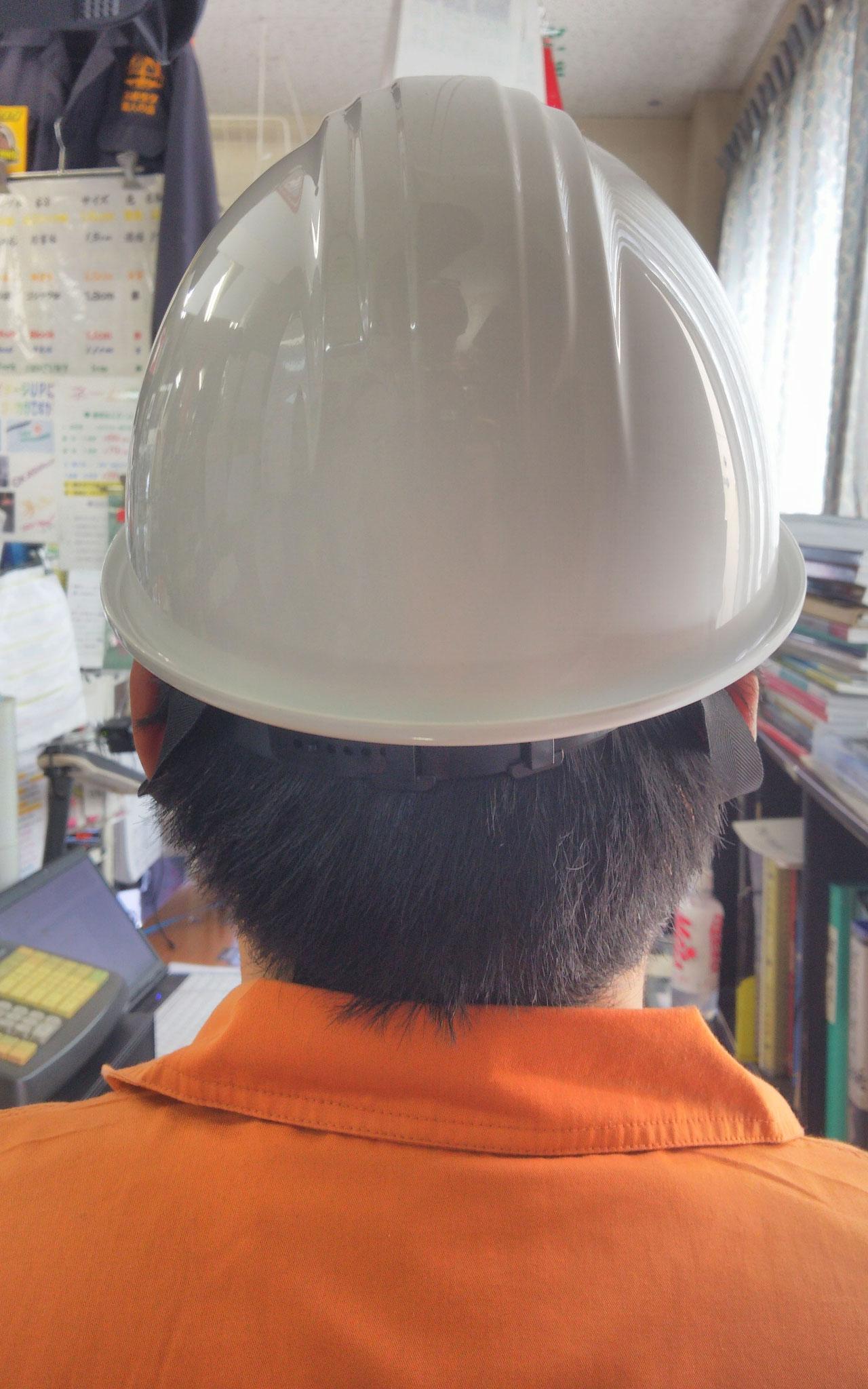 KAGAヘルメット アメリカン型BS-1Pライナー入¥1,595(税込)後ろ