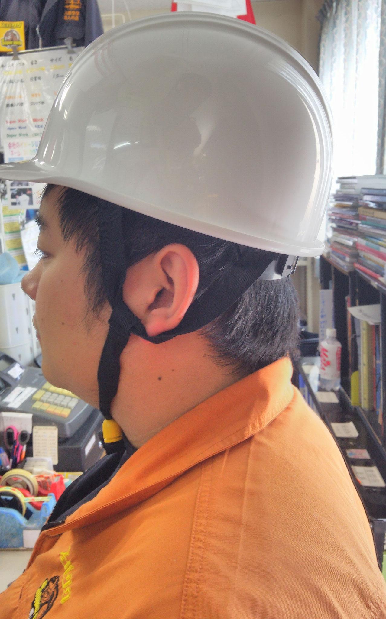 KAGAヘルメット アメリカン型BS-1Pライナー入¥1,595(税込)左側