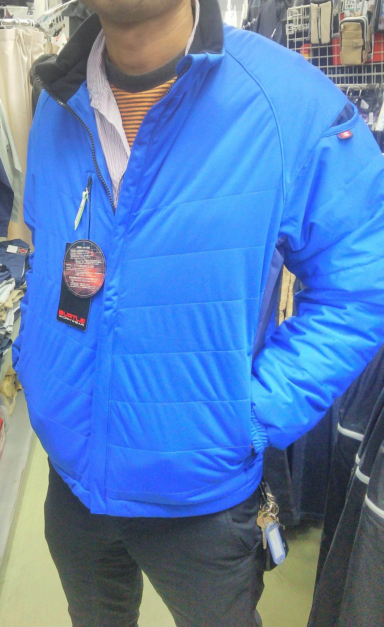 BURTLE<バートル>7410 防風ストレッチブルゾン ¥2,990(税込)