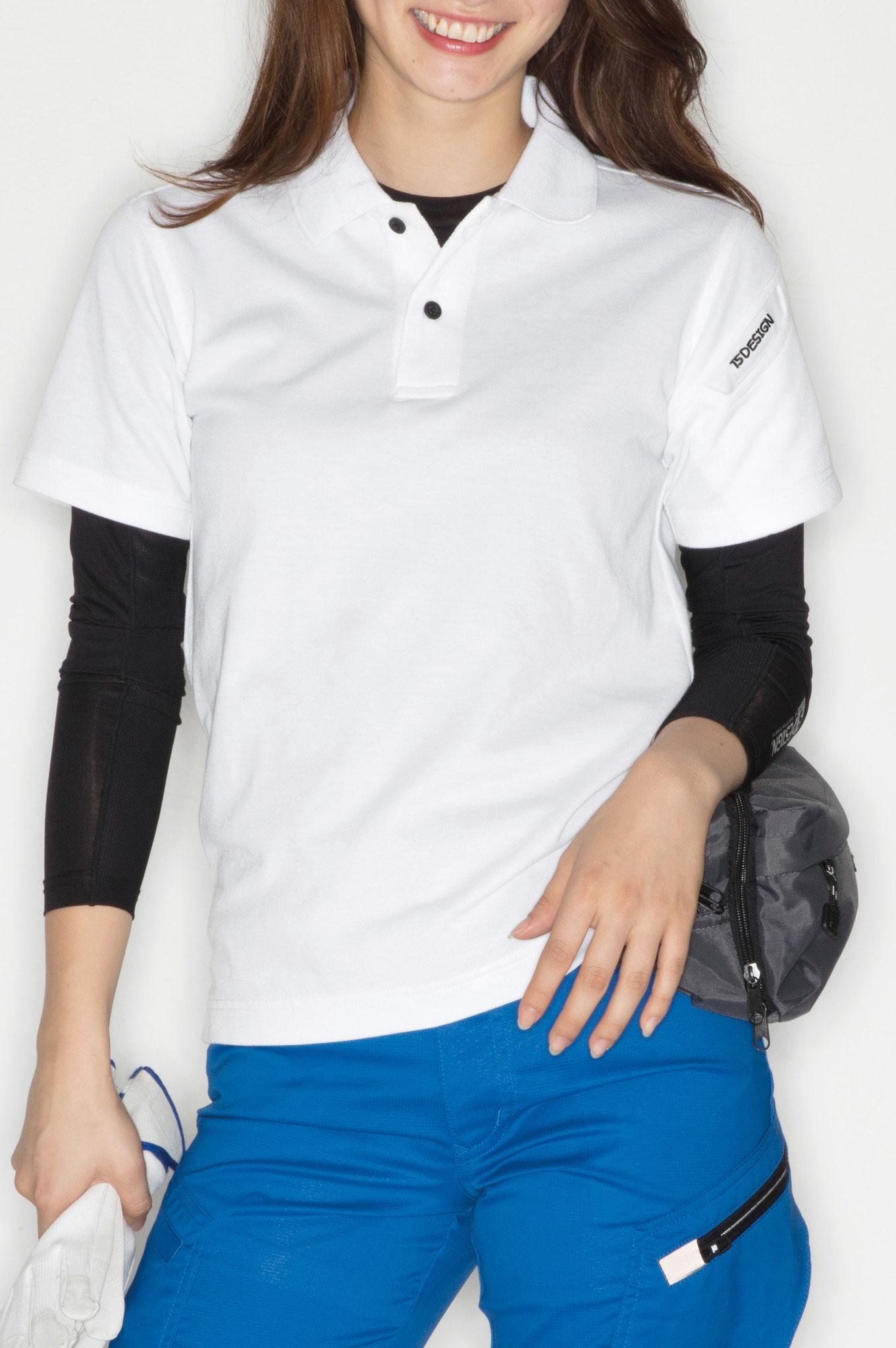 TS DESIGN~TSデザイン~4065 ショートスリーブポロシャツ ¥2,190(税込)