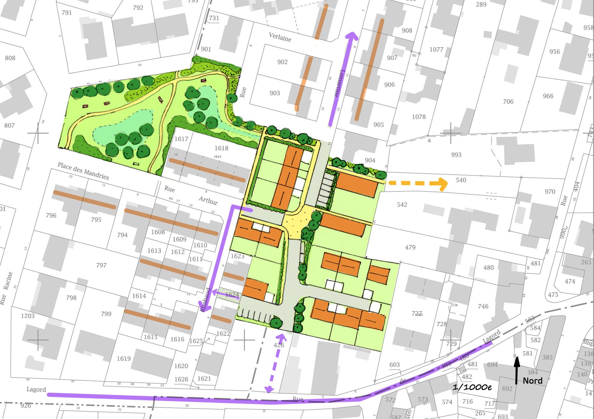Etude urbaine sur la commune de Saint Xandre (17)
