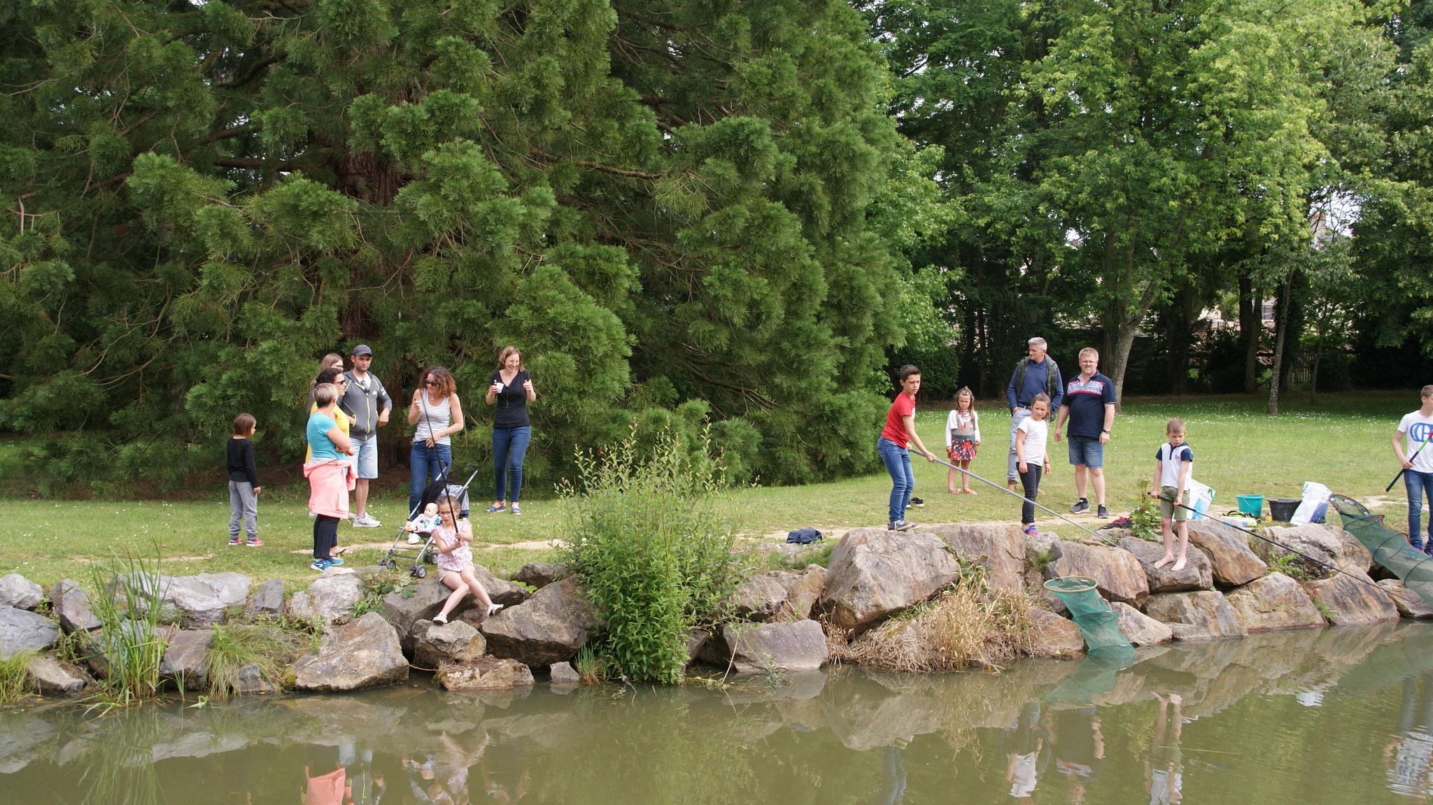 Concours de pêche dimanche 16 juin 2019