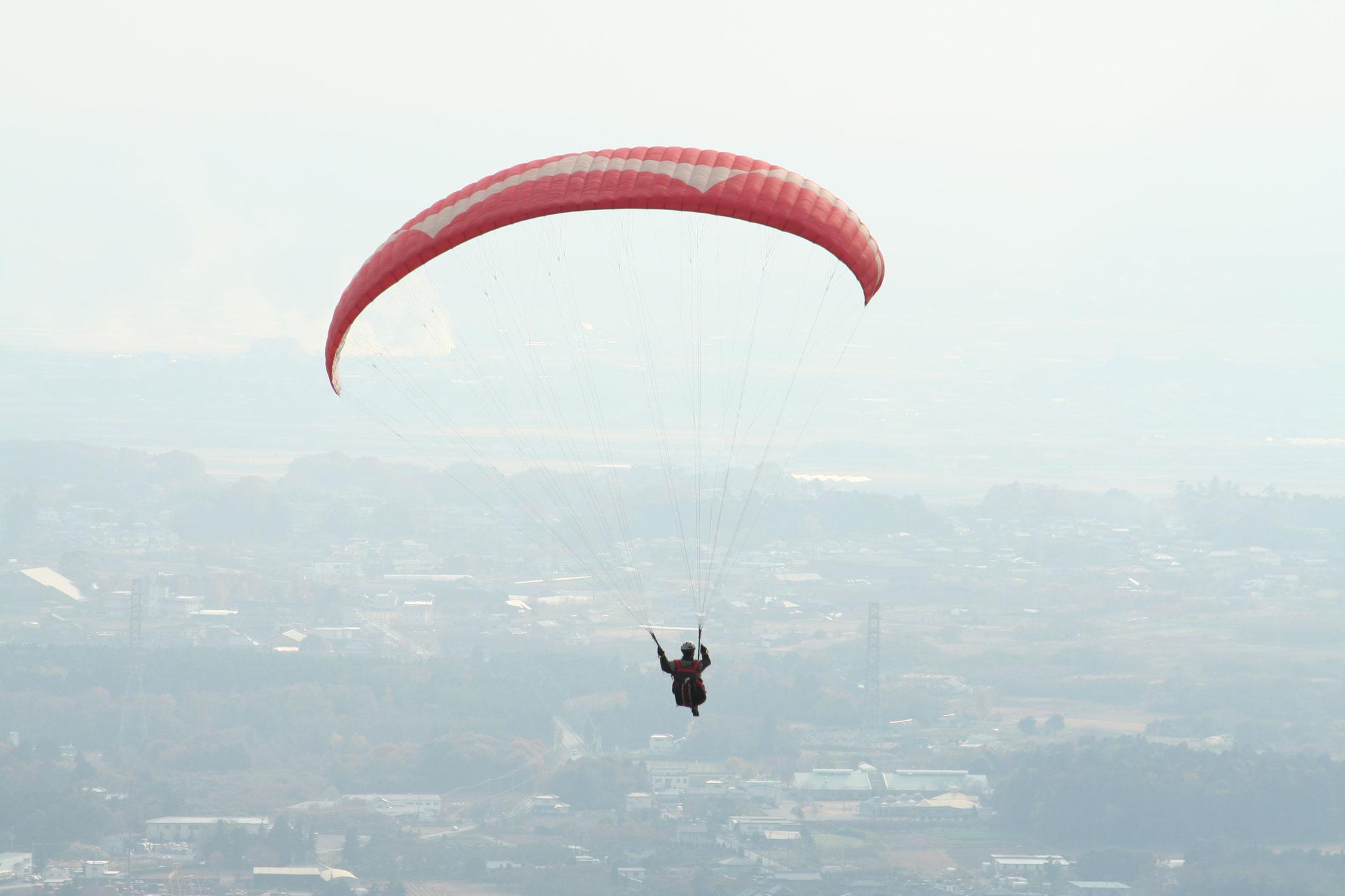 筑波山を飛ぶ2