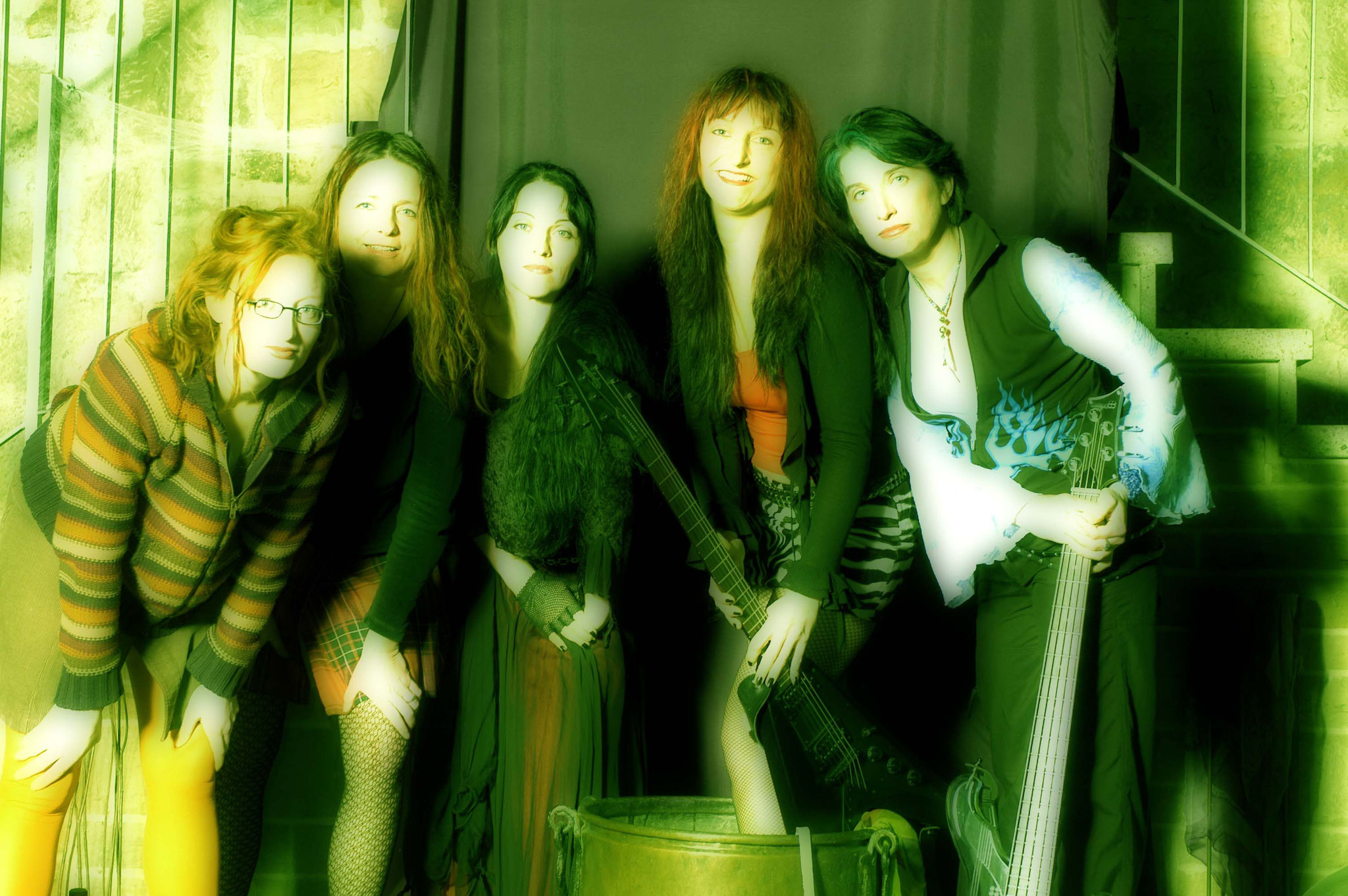 2001: Unser erstes Bandfoto