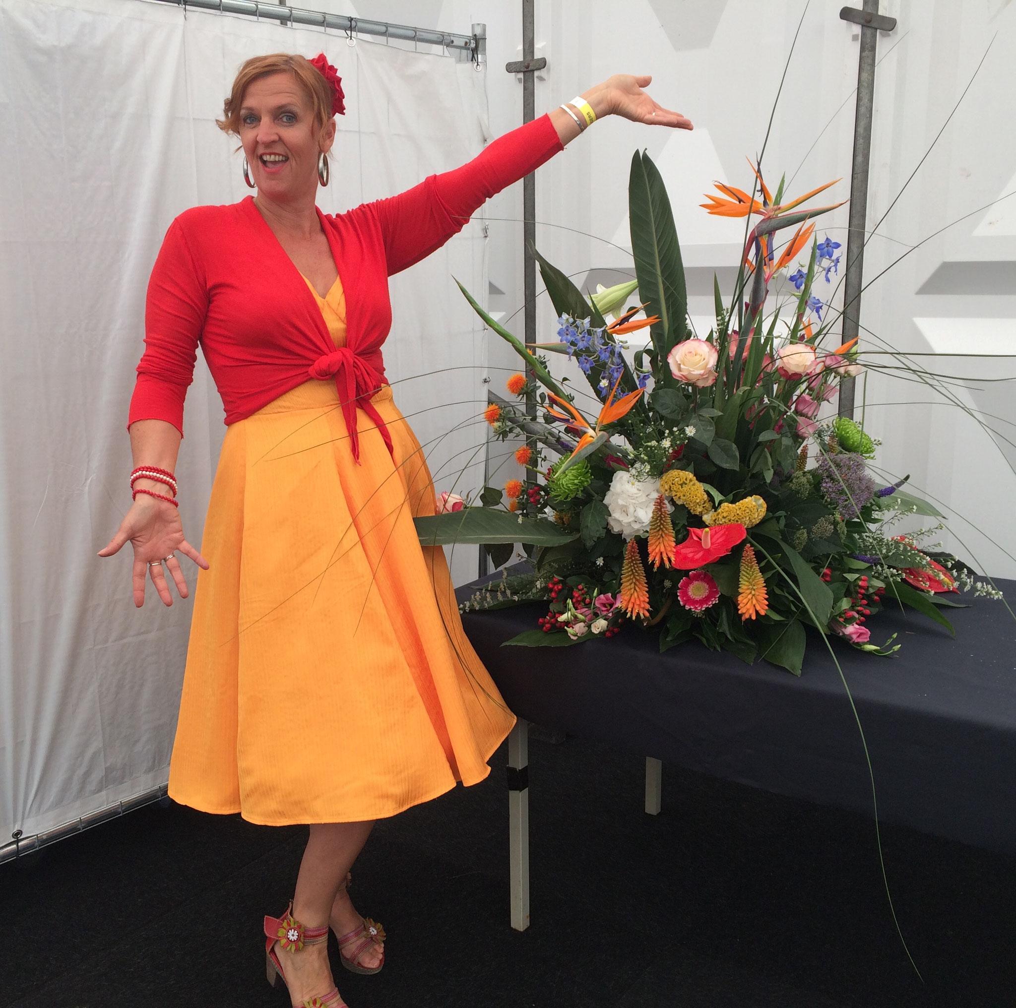 Optreden bloemencorso