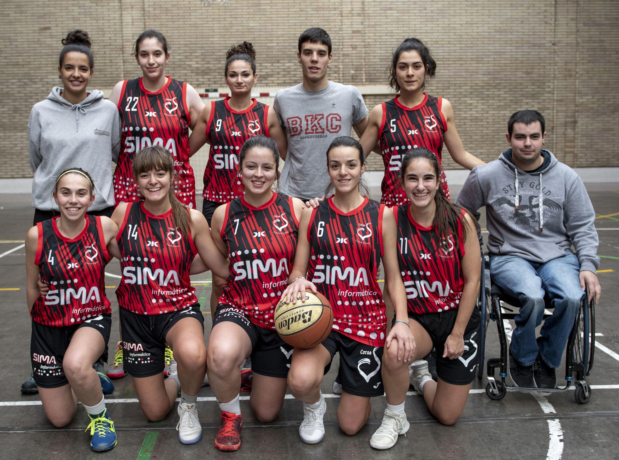 SIMA CORAZONISTAS * 2ª Senior Femenina Grupo A