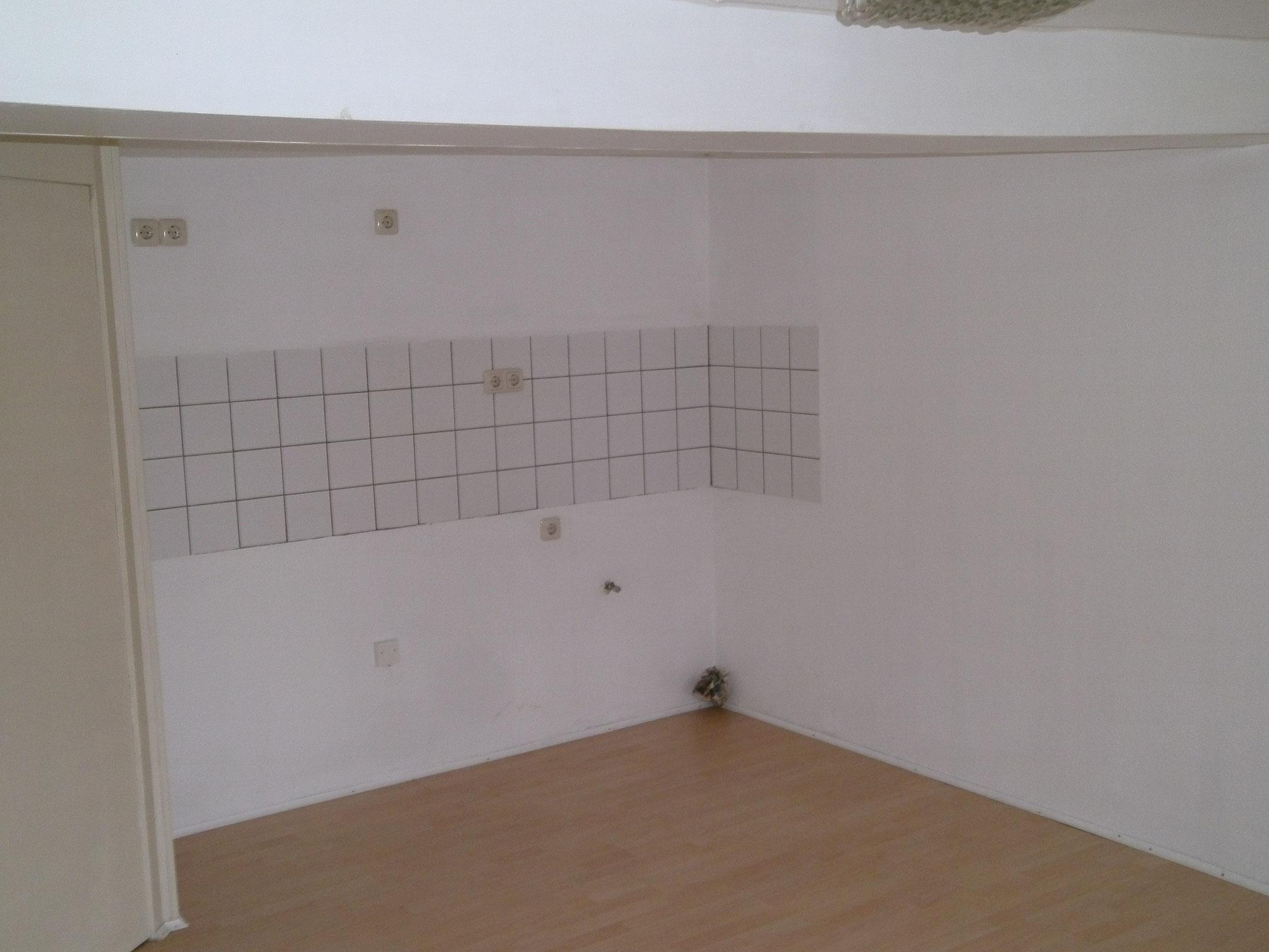 Kochniche im Wohn-/Essbereich