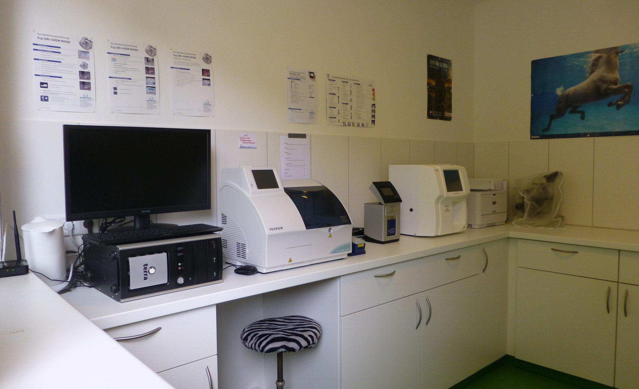 Praxiseigenes Labor