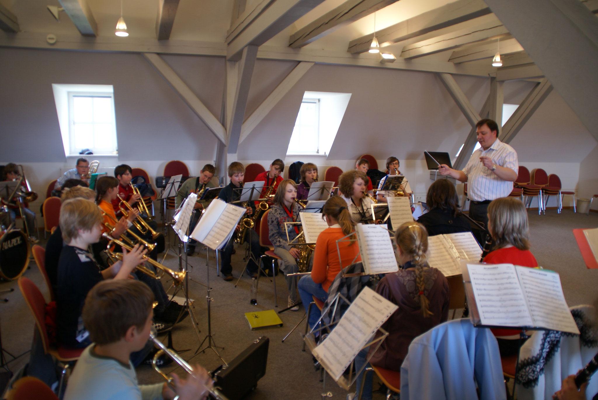 2009 Probentag in Cham Landkreismusikschule