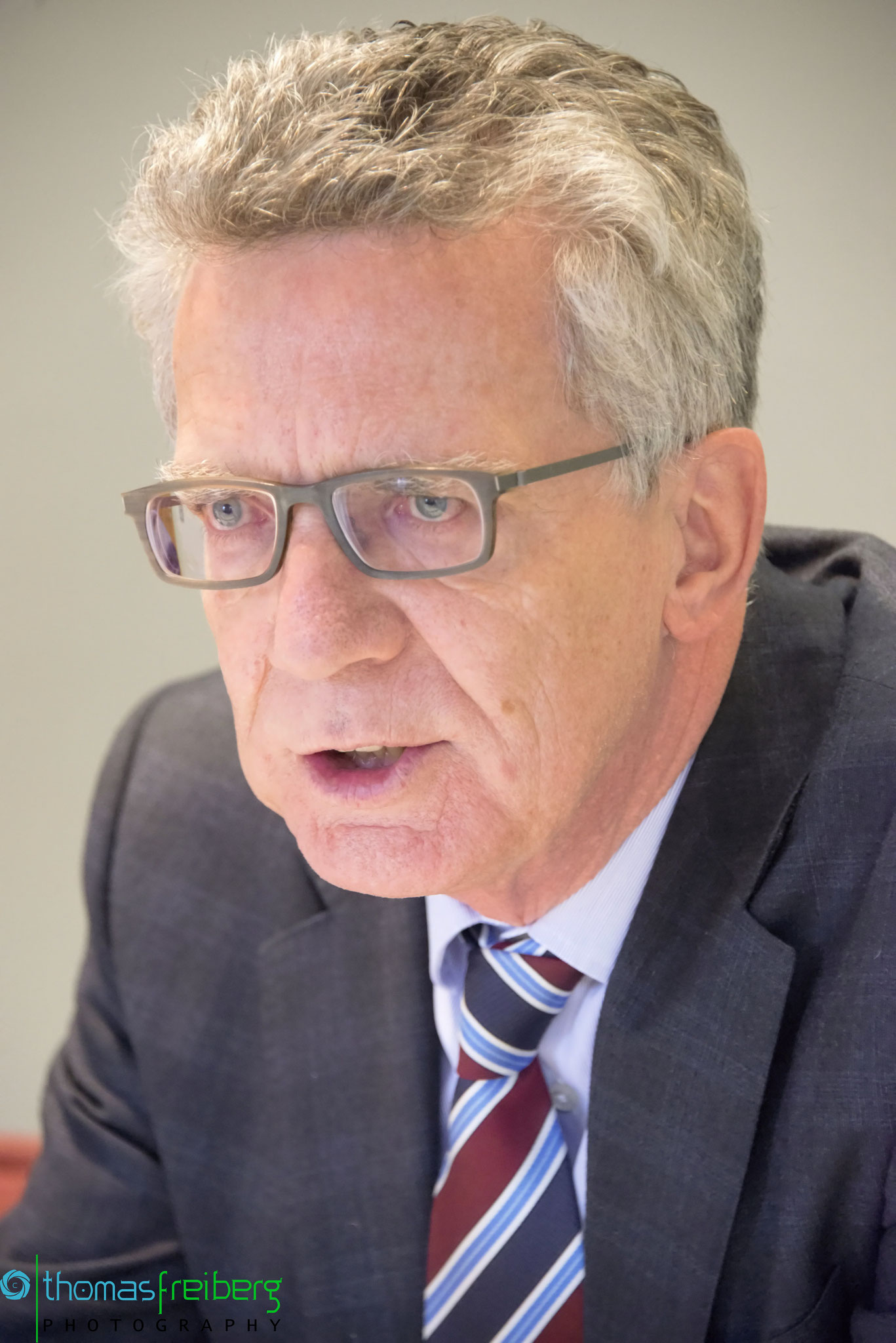 Thomas de Maiziere - Copyright © - Thomas Freiberg - All Rights reserved.
