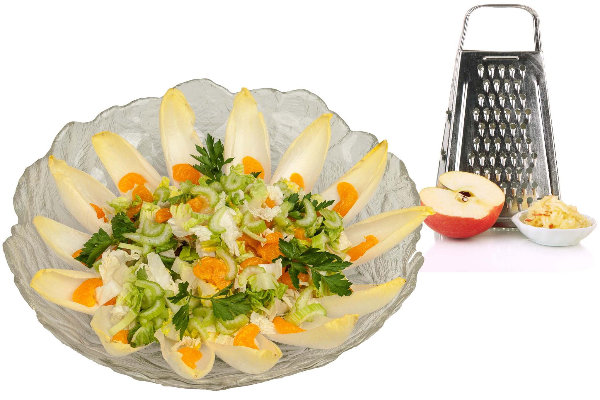 Süßer Salat mit Früchten