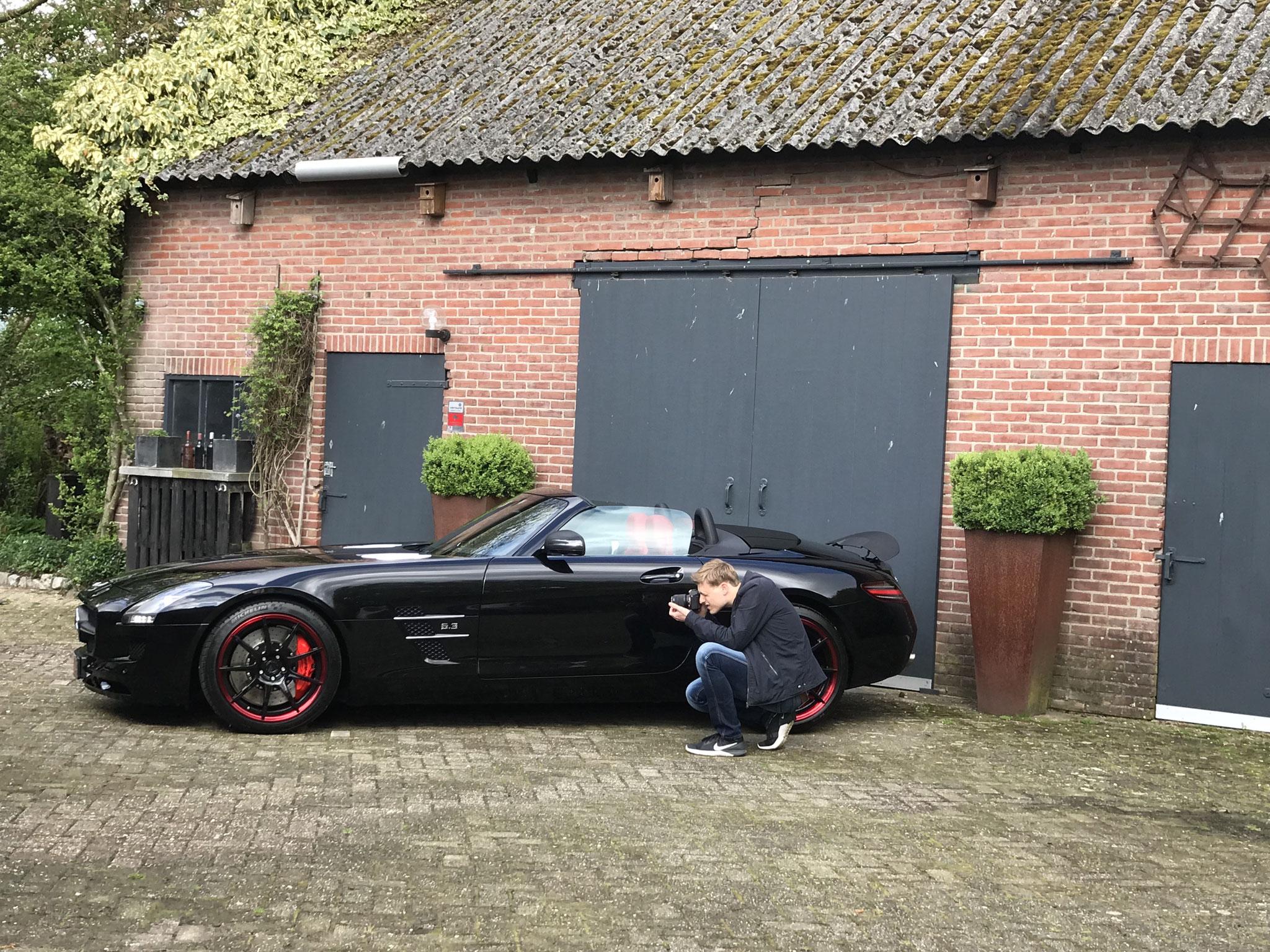 SLS63 Brabus, Na een full coating door ons wordt de auto door :Thom van Alphen Videography volledig gefotografeerd