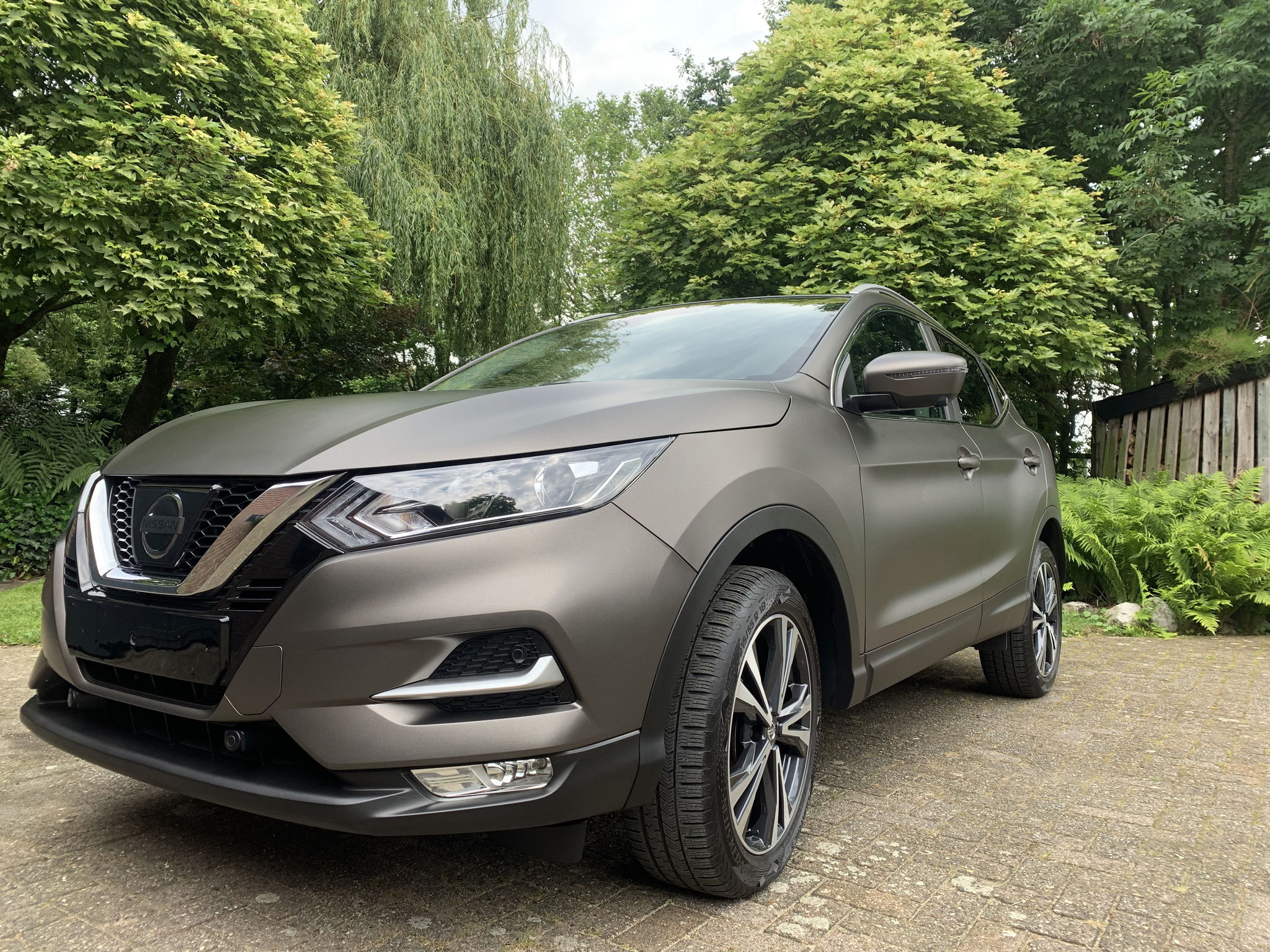 Nissan Qashqai Full Matte Coating Package