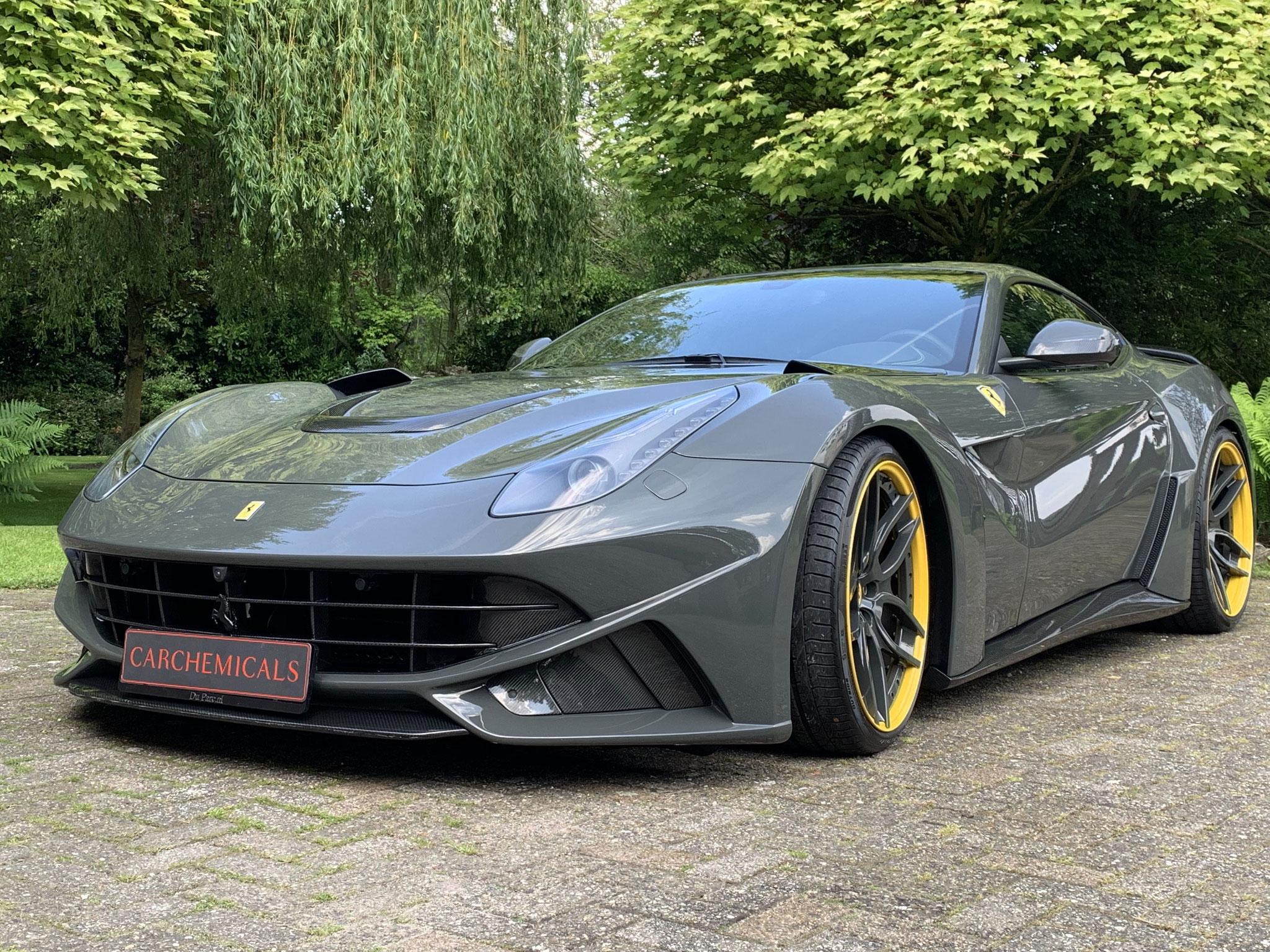 Ferrari N Largo Novitec 1/15 stuks op de wereld, beschermd door IGL Coatings Kenzo, Trim, Wheel, BBQ, Headlight