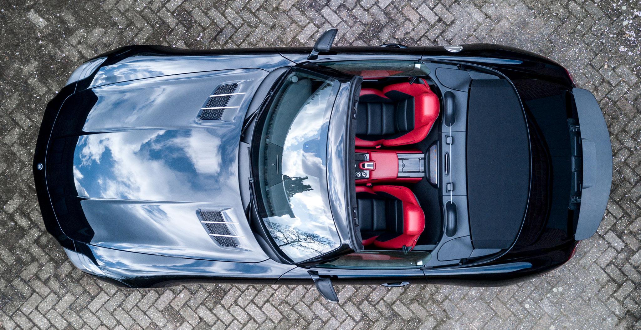 Mercedes SLS63 Roadster Full Coating Package (drone foto)