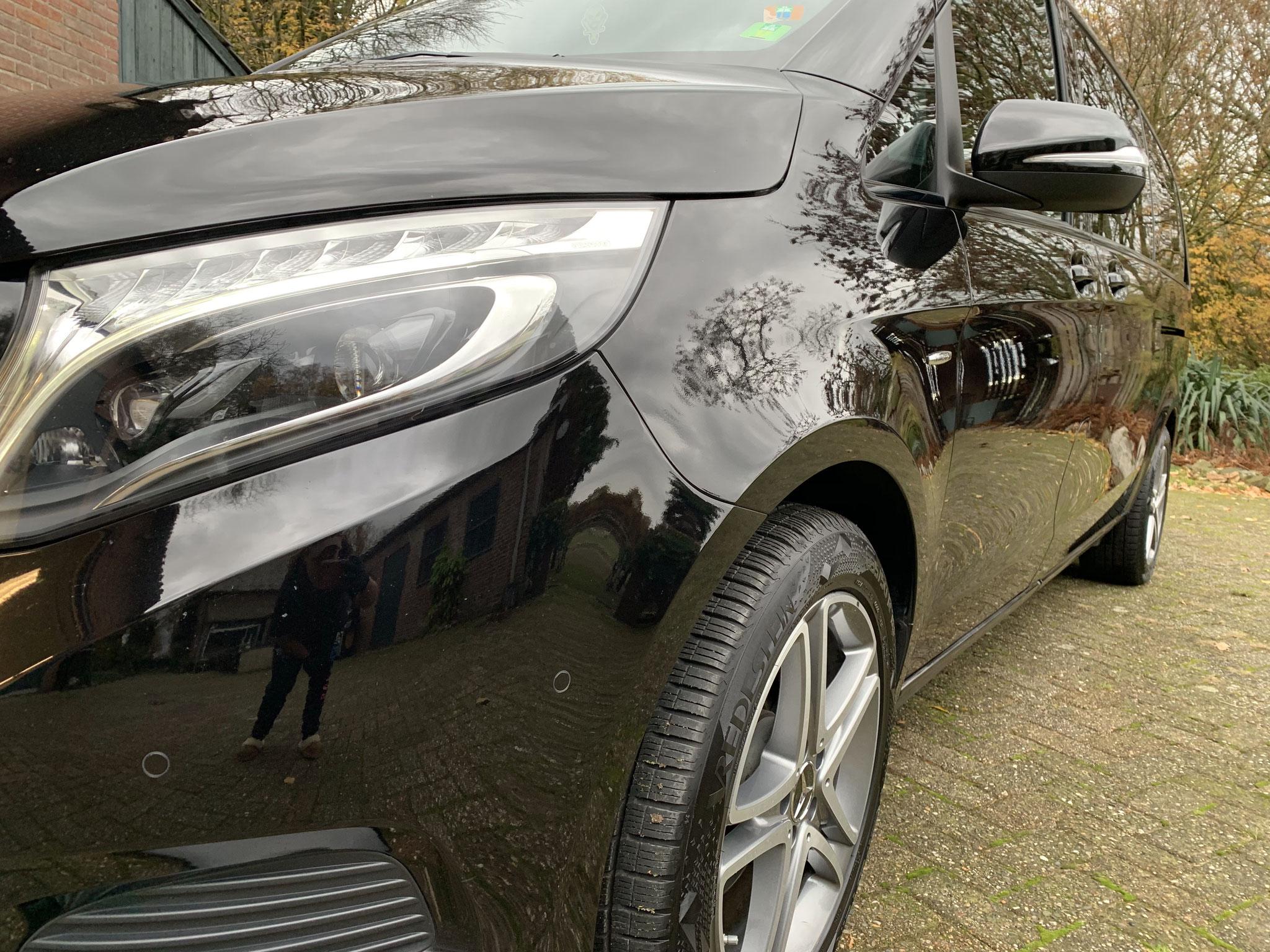 Mercedes V-Class 250D full detailing + winter wax