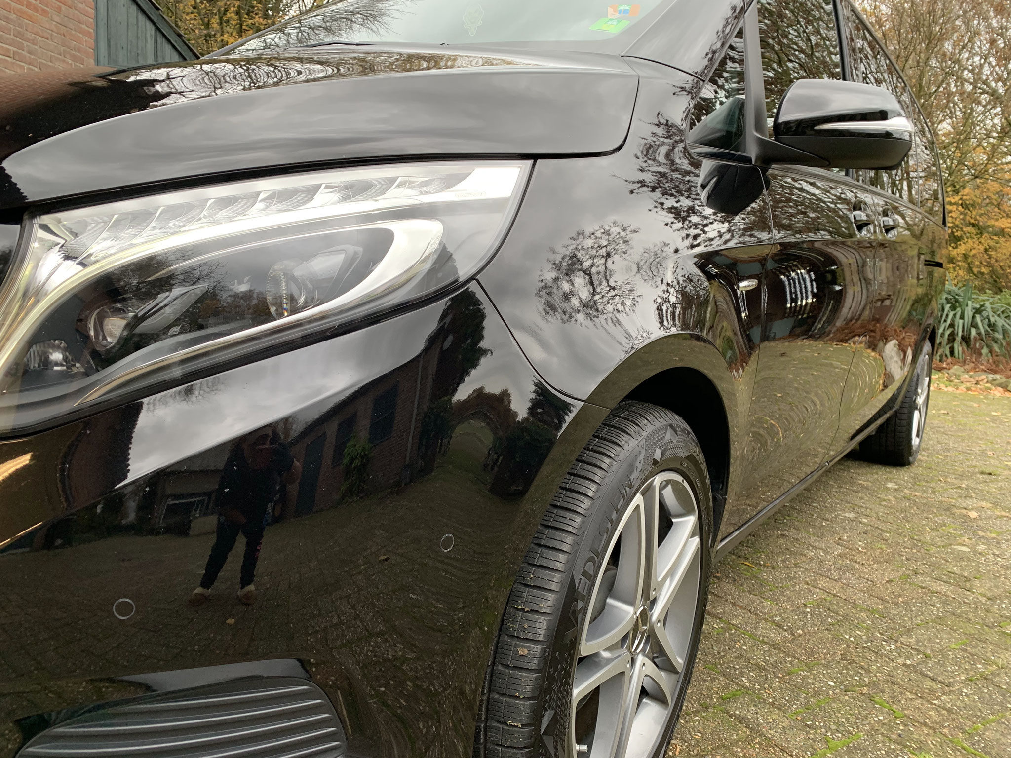 Mercedes V-Class 250D full detailing + winter wax