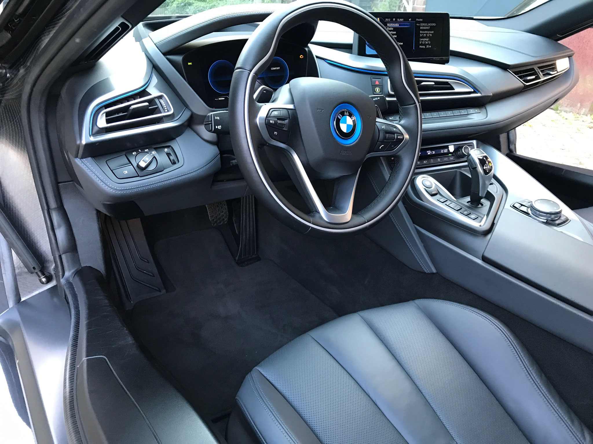 Bmw I8 Basic Interieur.