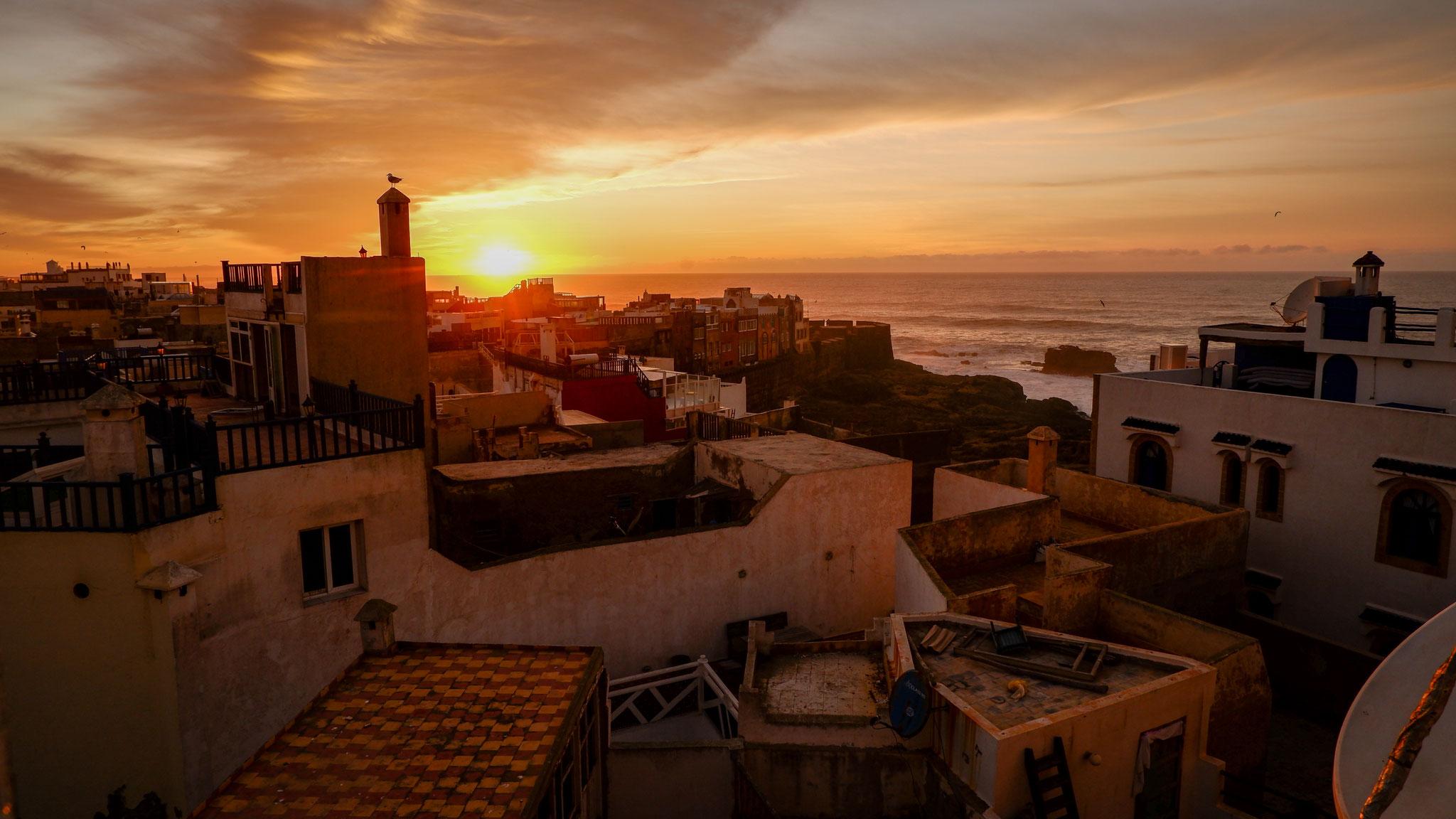 Die Sonnenuntergänge von Essaouira sind legendär