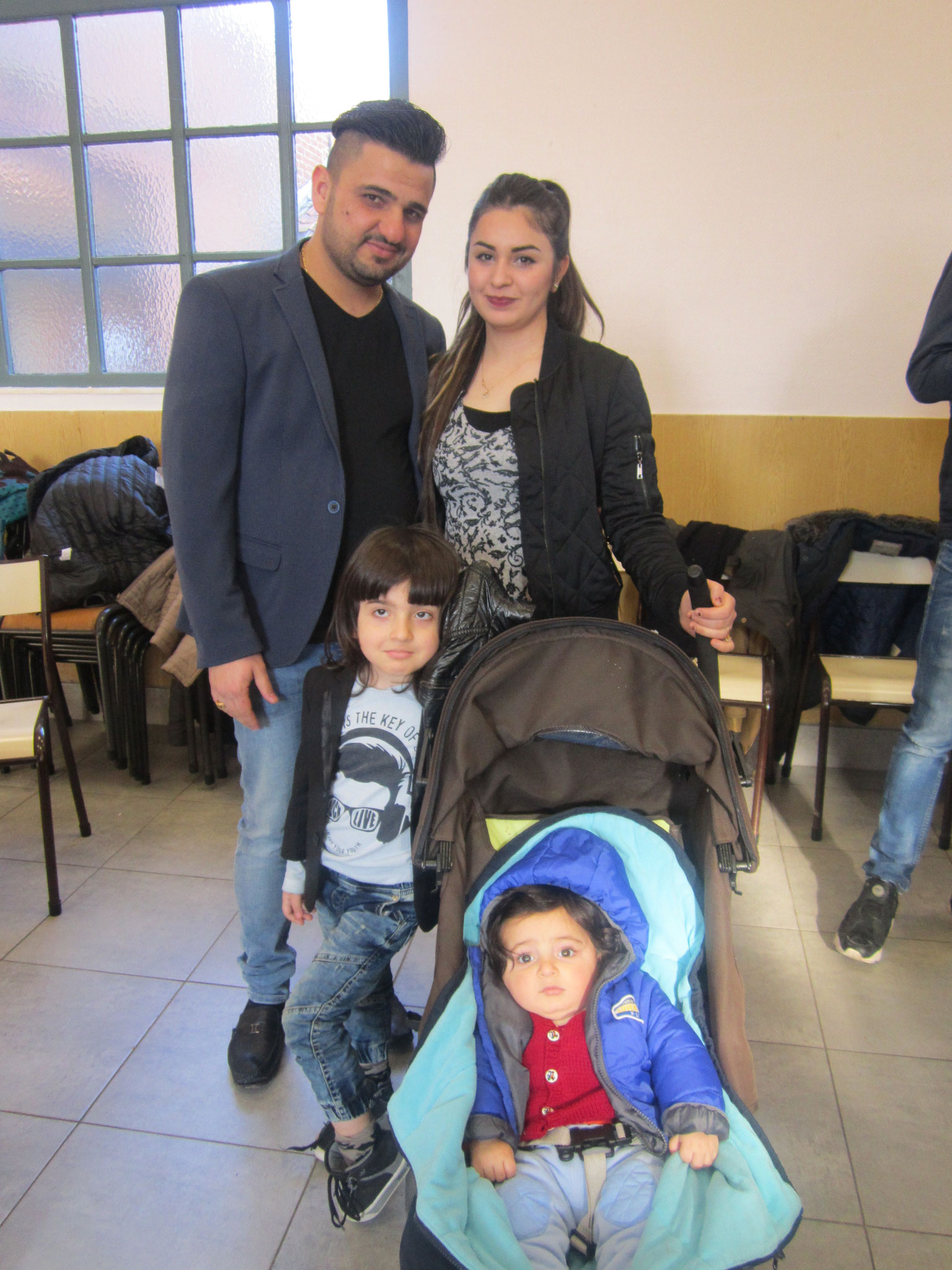 Bahnam, Tahani, Meron et Mikel