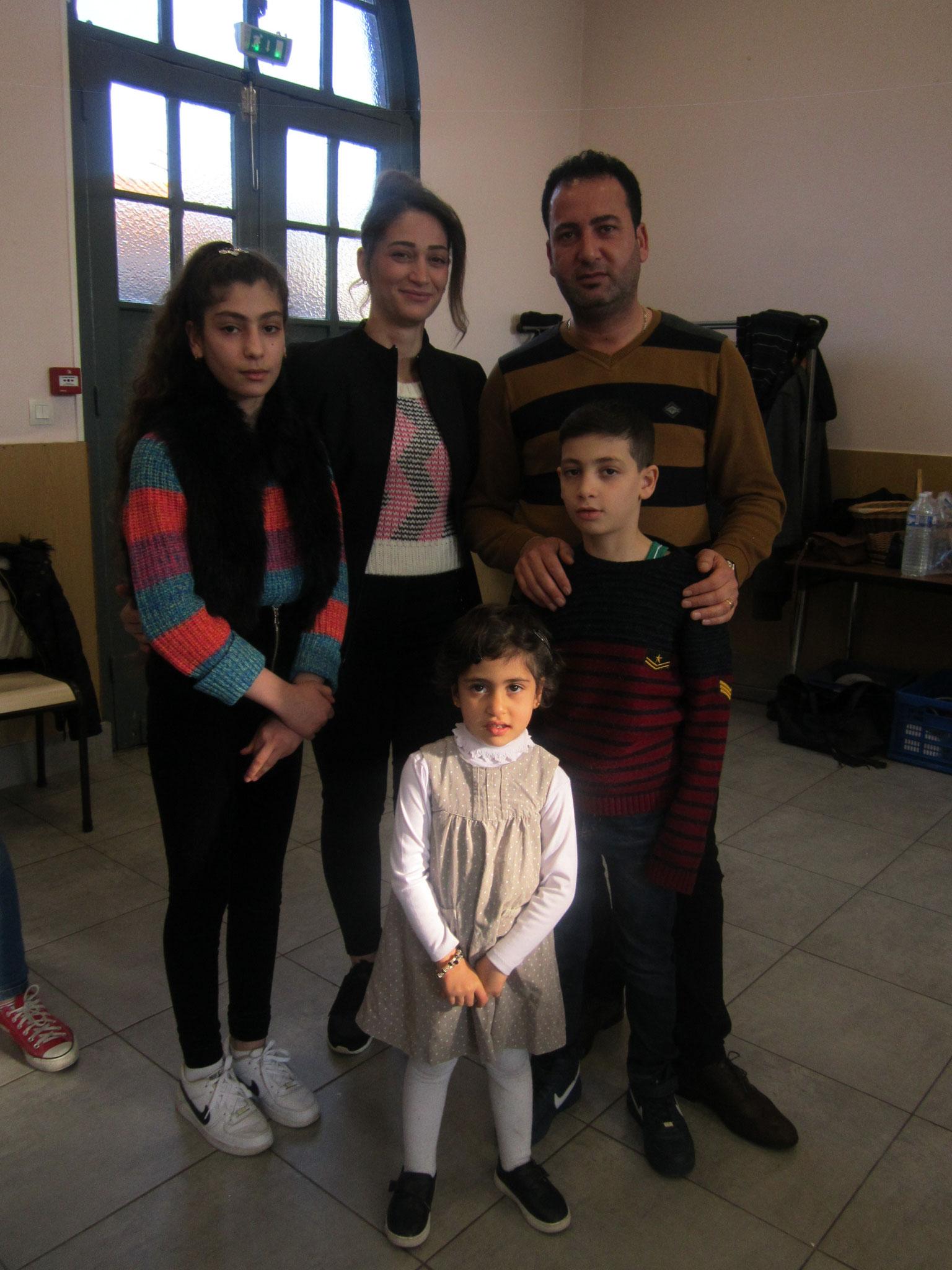 La famille Sarum nouvellement arrivée