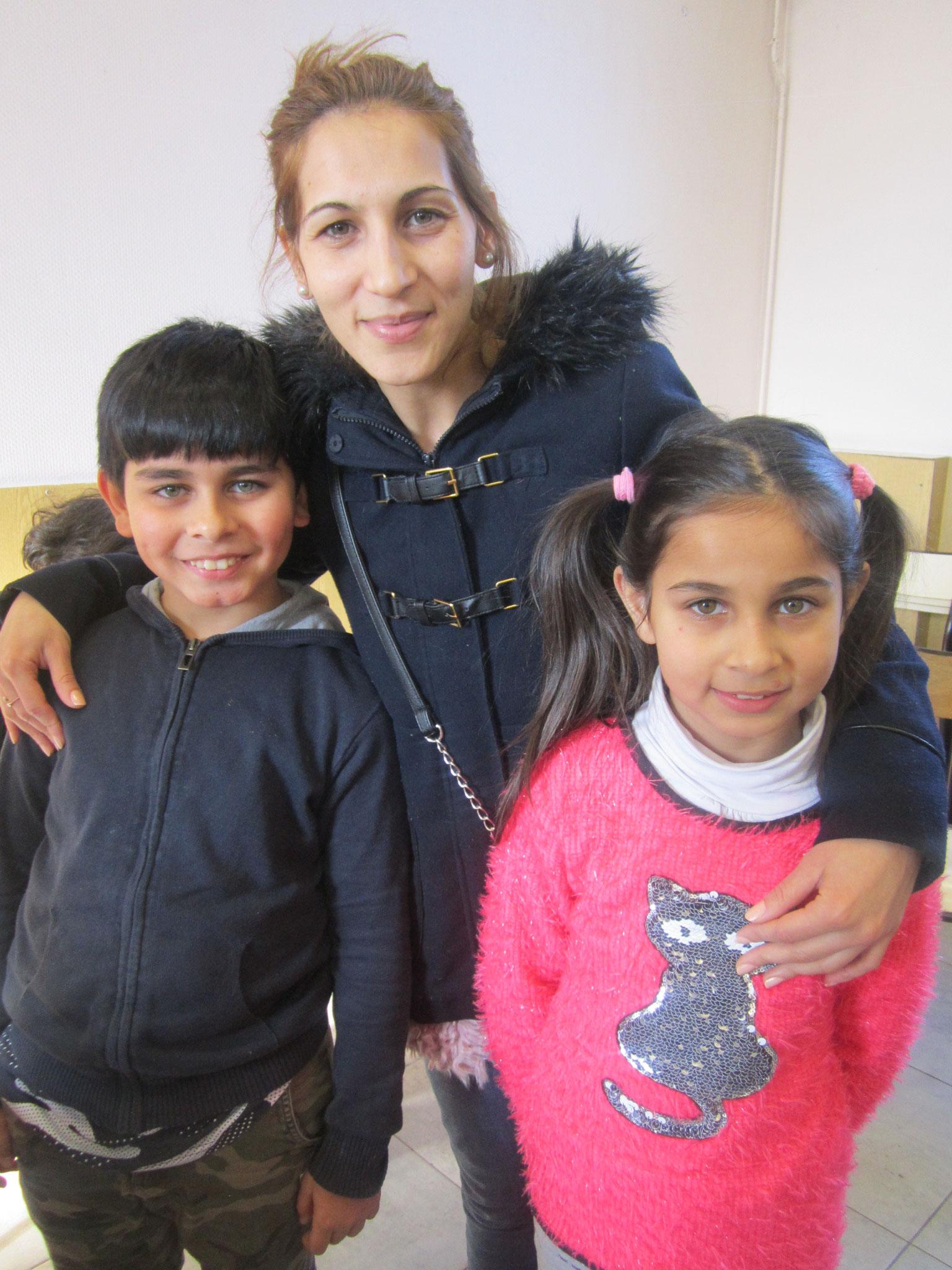 Valya avec Sashka et Raycho