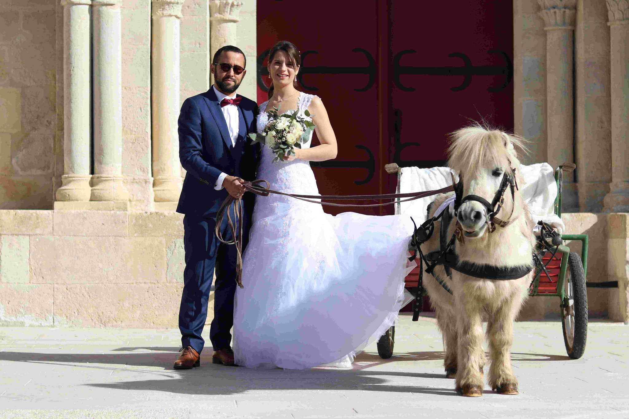 Shooting mariage Laurine, Anthony et Flash