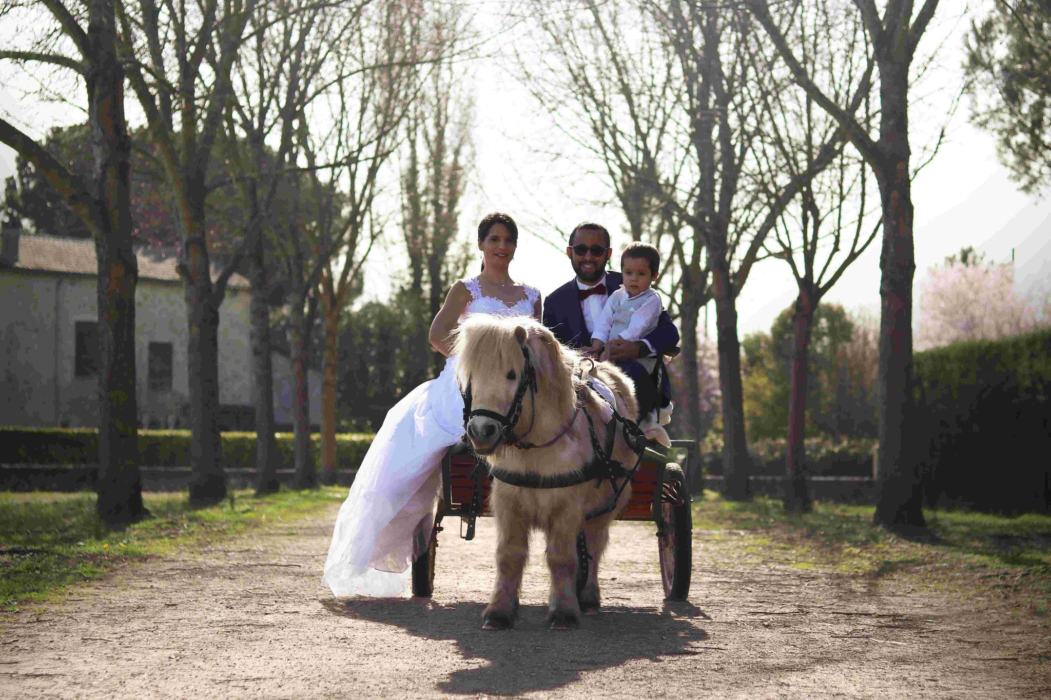 Shooting mariage Laurine, Anthony, Gabriel et Flash