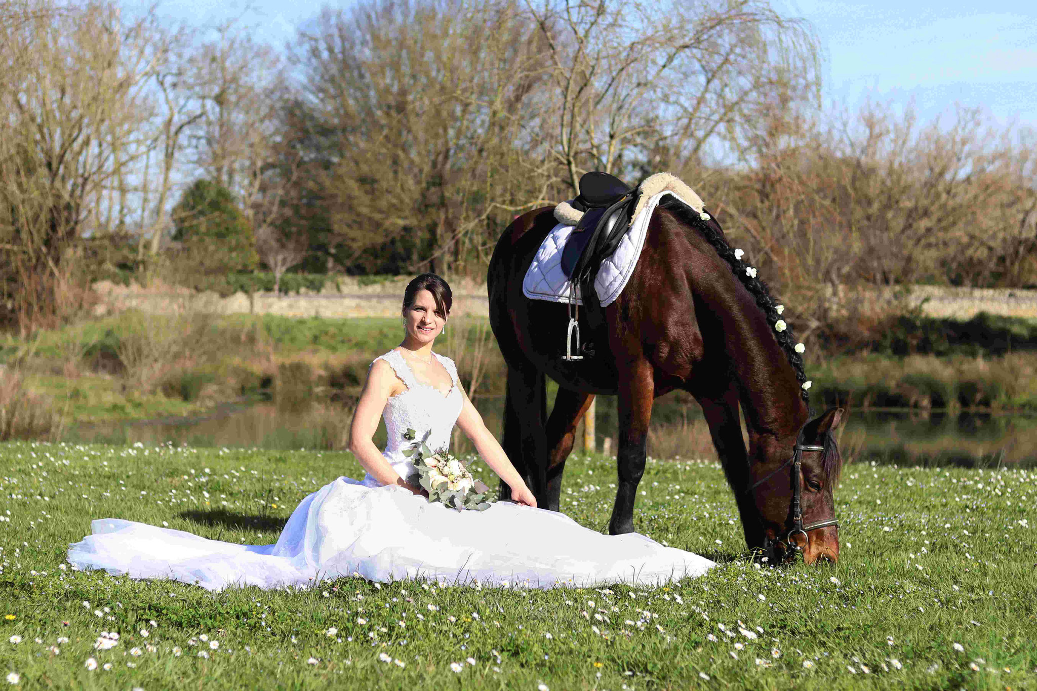 Shooting mariage Laurine et Caporal