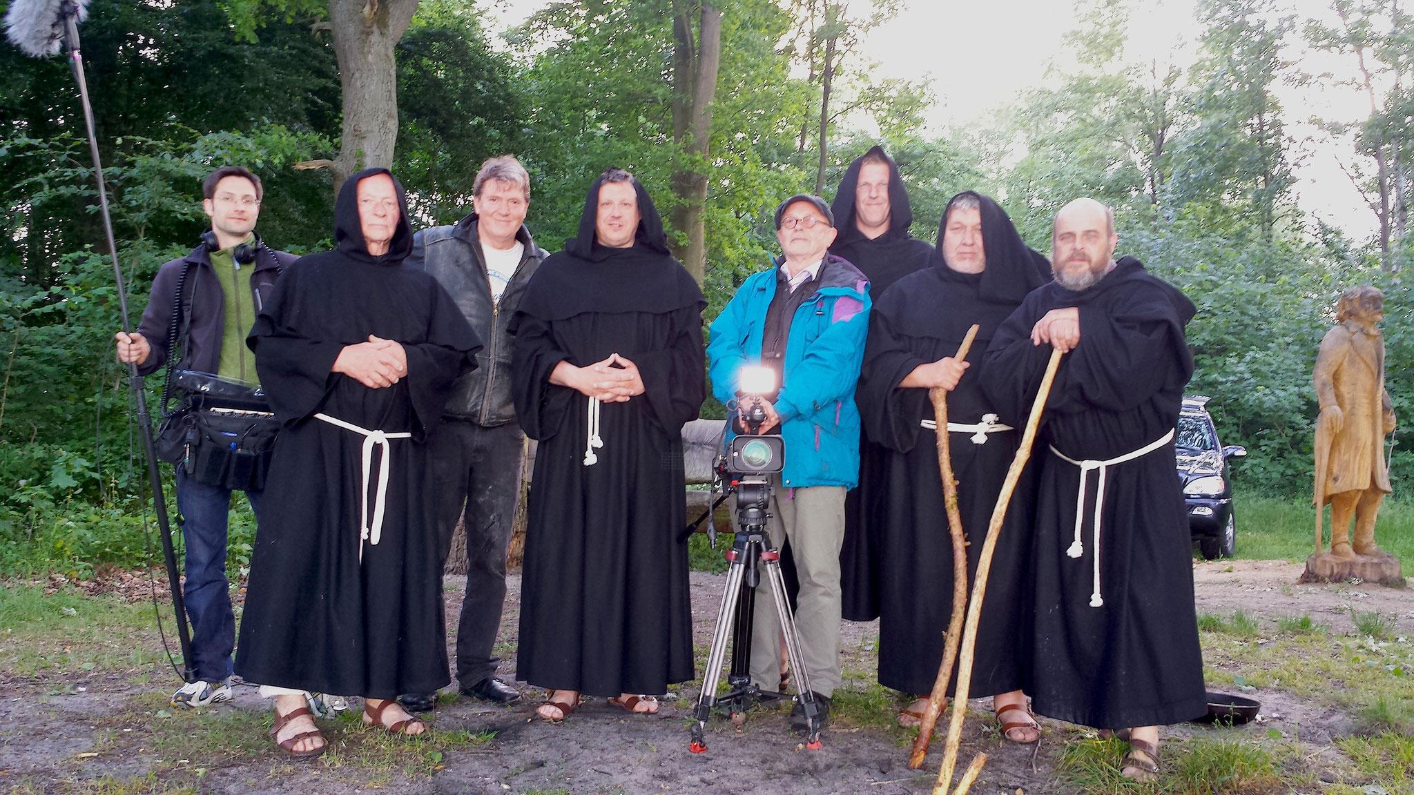 Dreharbeiten im Kloster Dobbertin, 2013