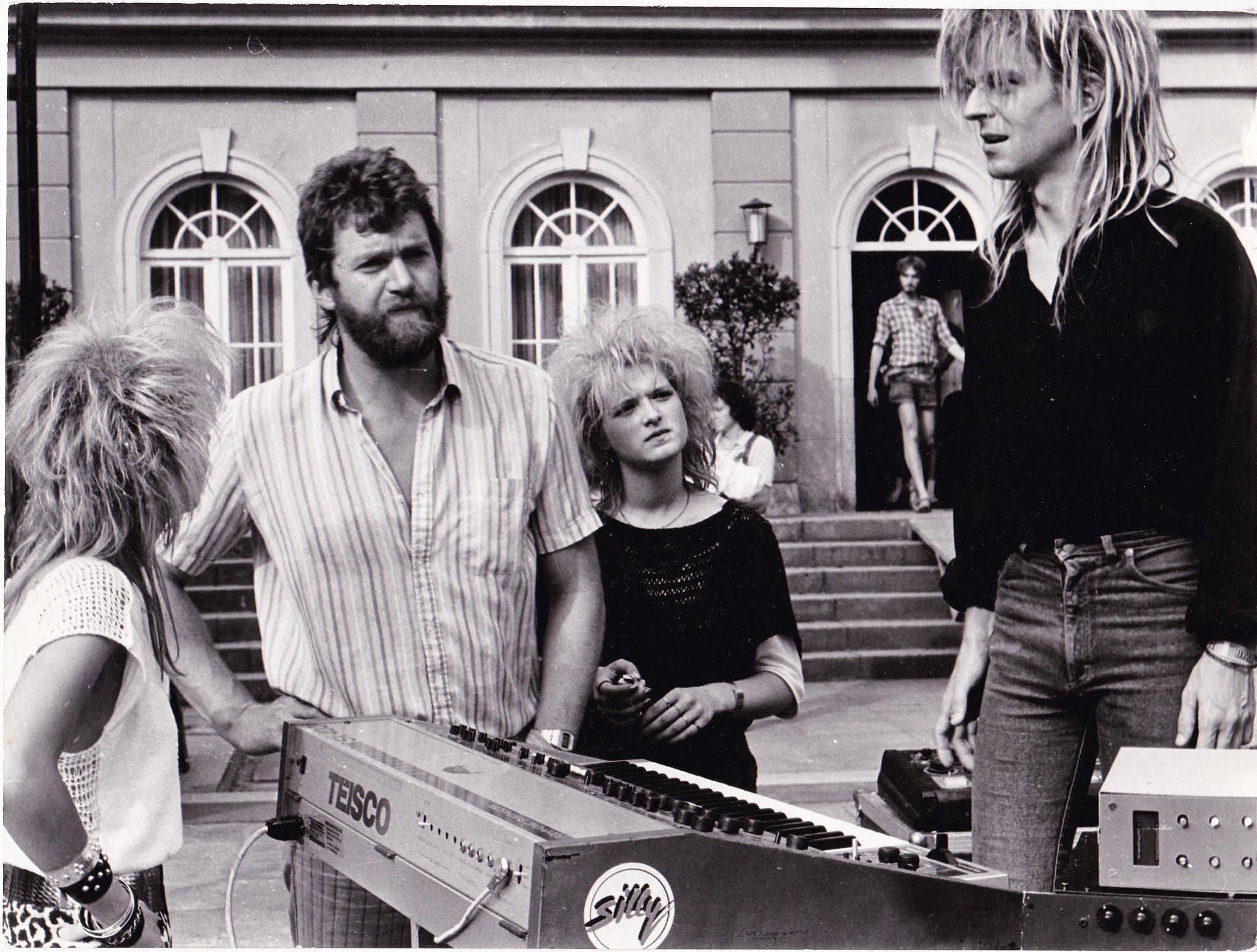 """""""flüstern&SCHREIEN"""" mit Silly, 1988"""