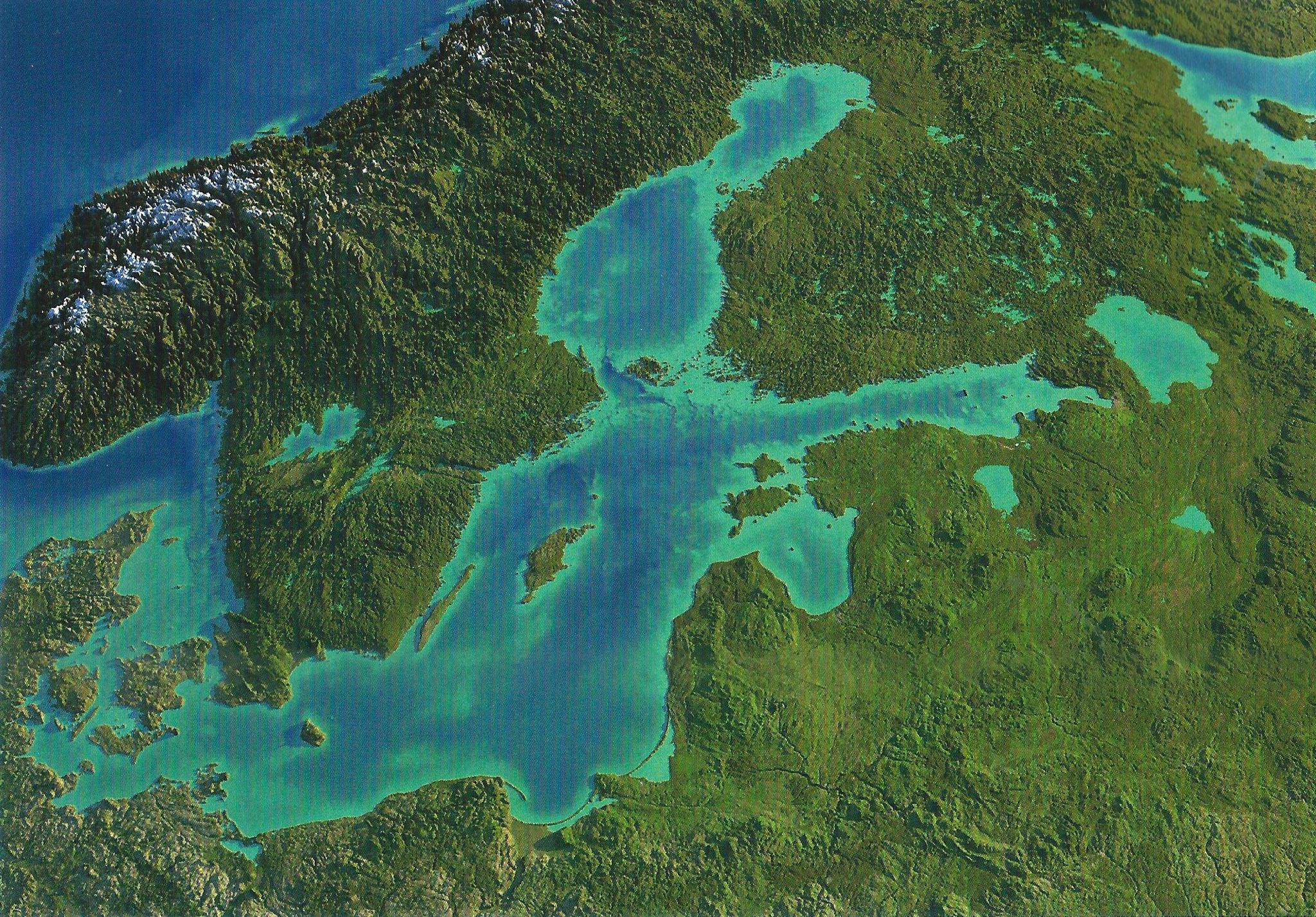 Einzig von Dahme aus gibt es die längste Strecke offenen Meers in der Ostsee - bis hin zum Baltikum