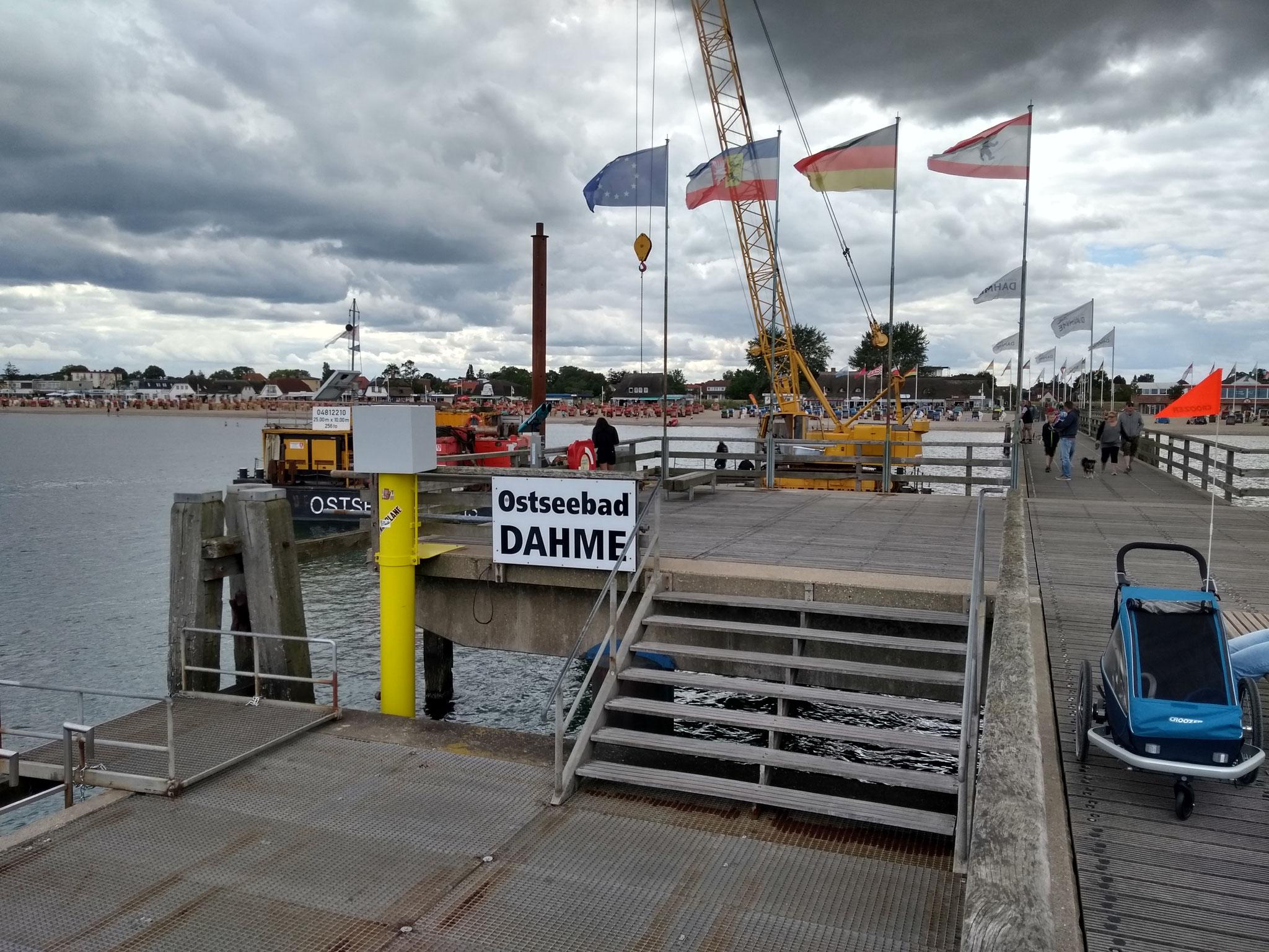 Die 1979 eingeweihte Seebrücke muss laufend unterhalten werden.