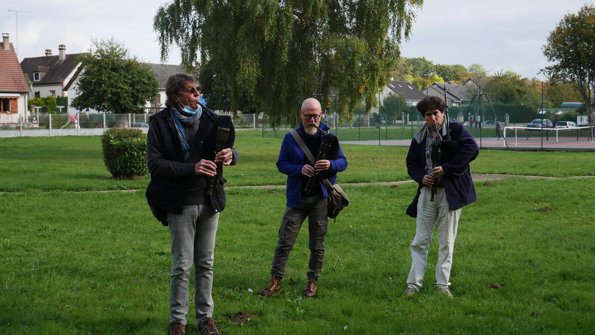 Balade contée et musicale avec Chés Wèpes octobre 2020