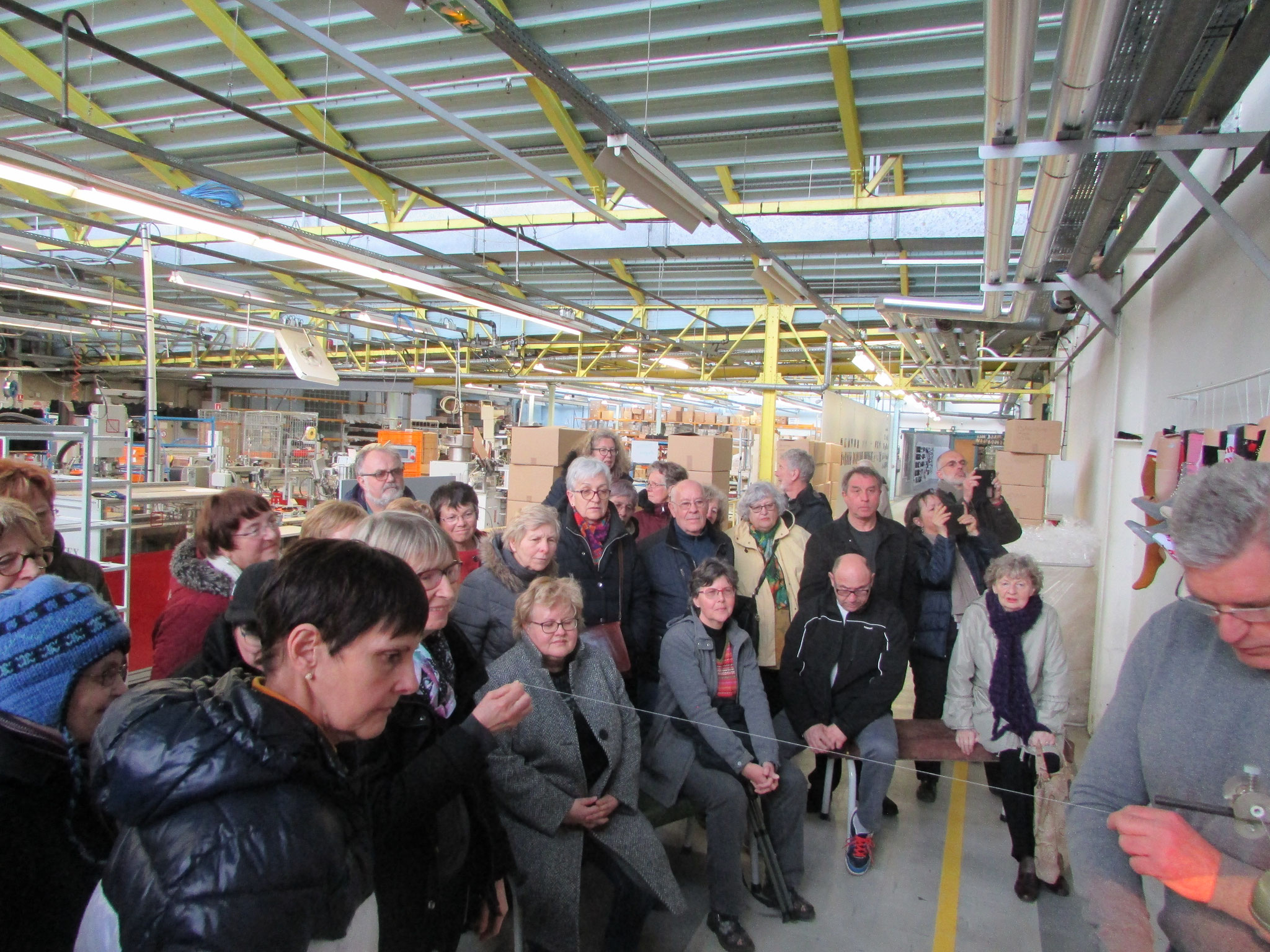 Visite usine Kindy