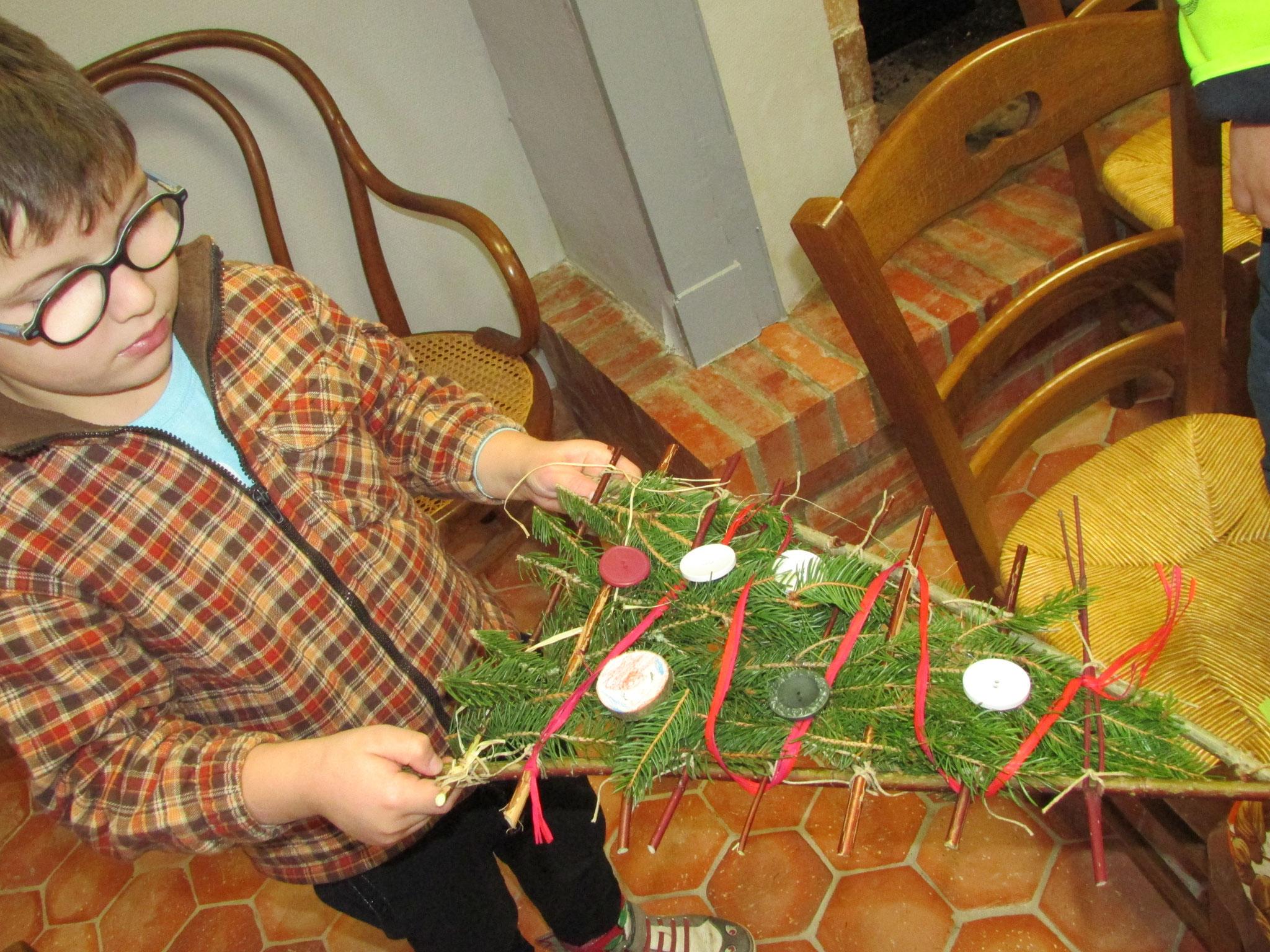 déco de Noël au naturel