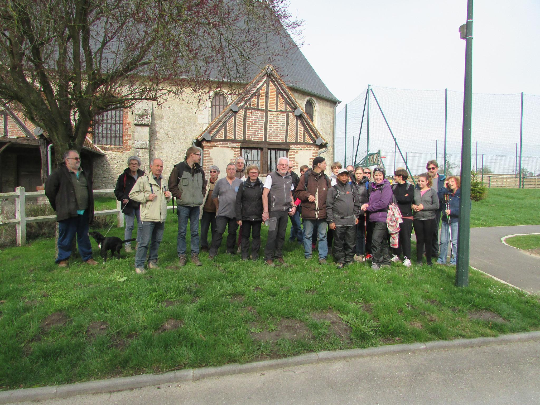 Randonnée nature autour de Villers sur Auchy