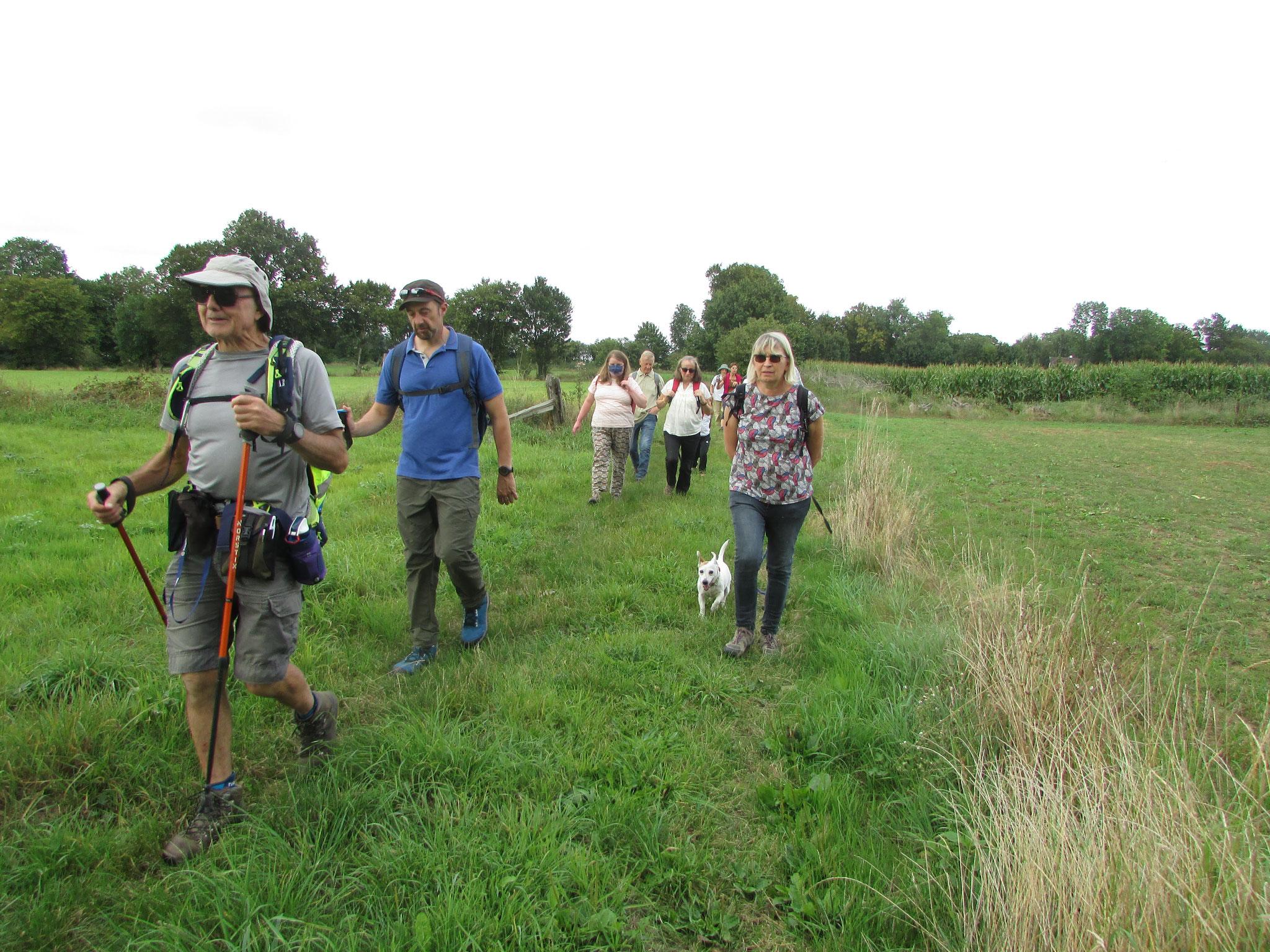 Randonnée nature autour de Villers/Auchy - Septembre 2021