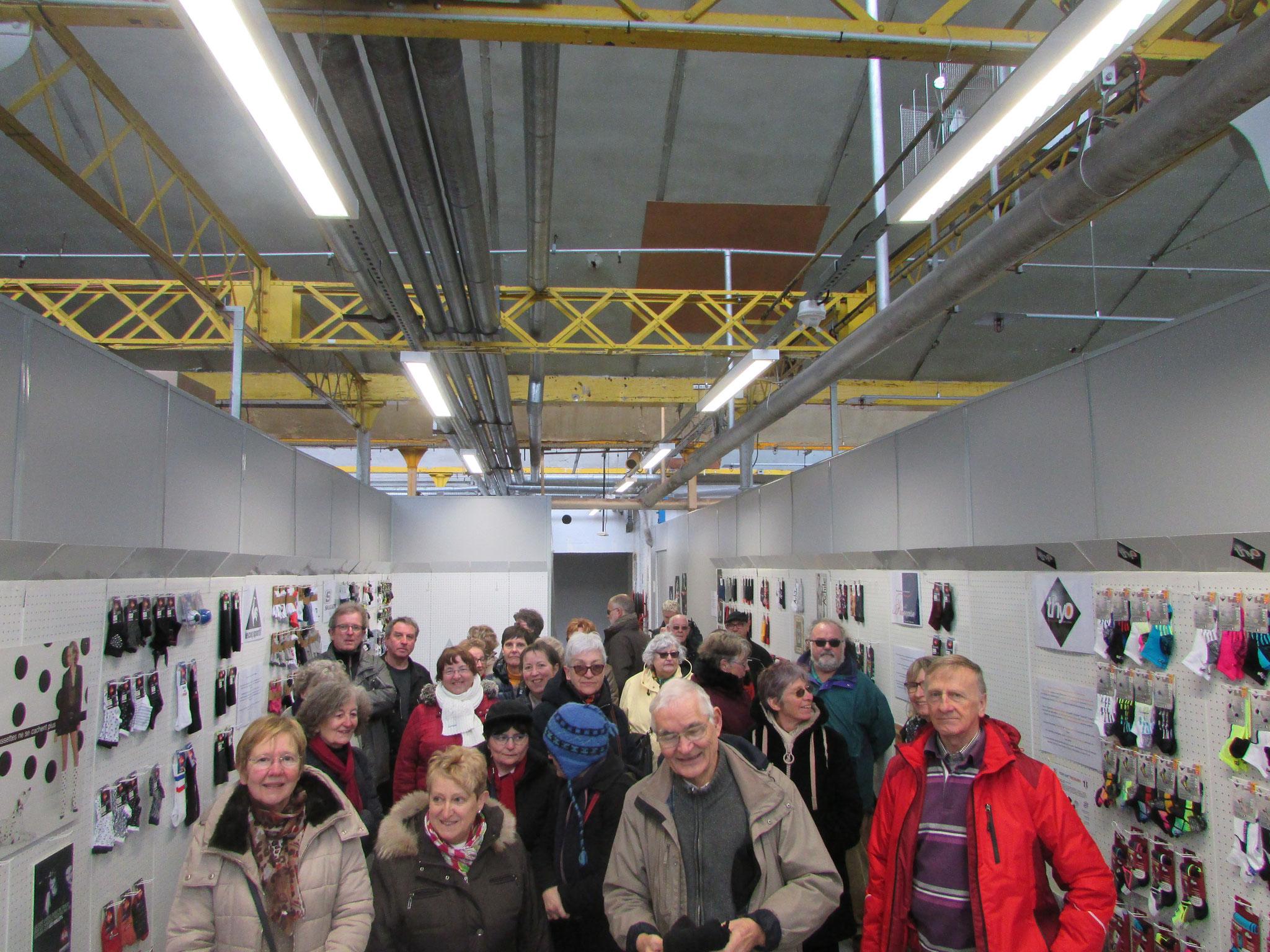 Visite usine Kindy