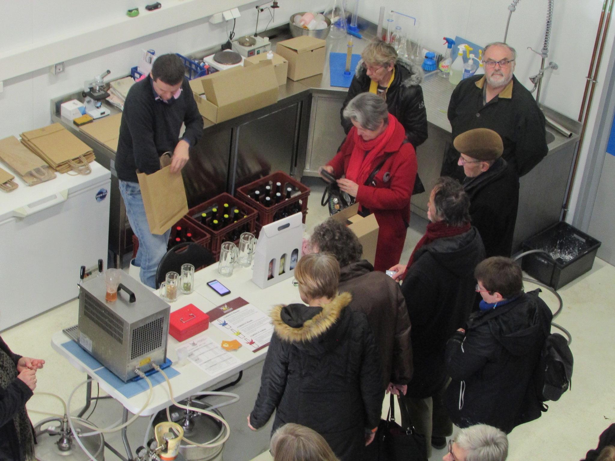 Visite de la brasserie artisanale de Beauvais