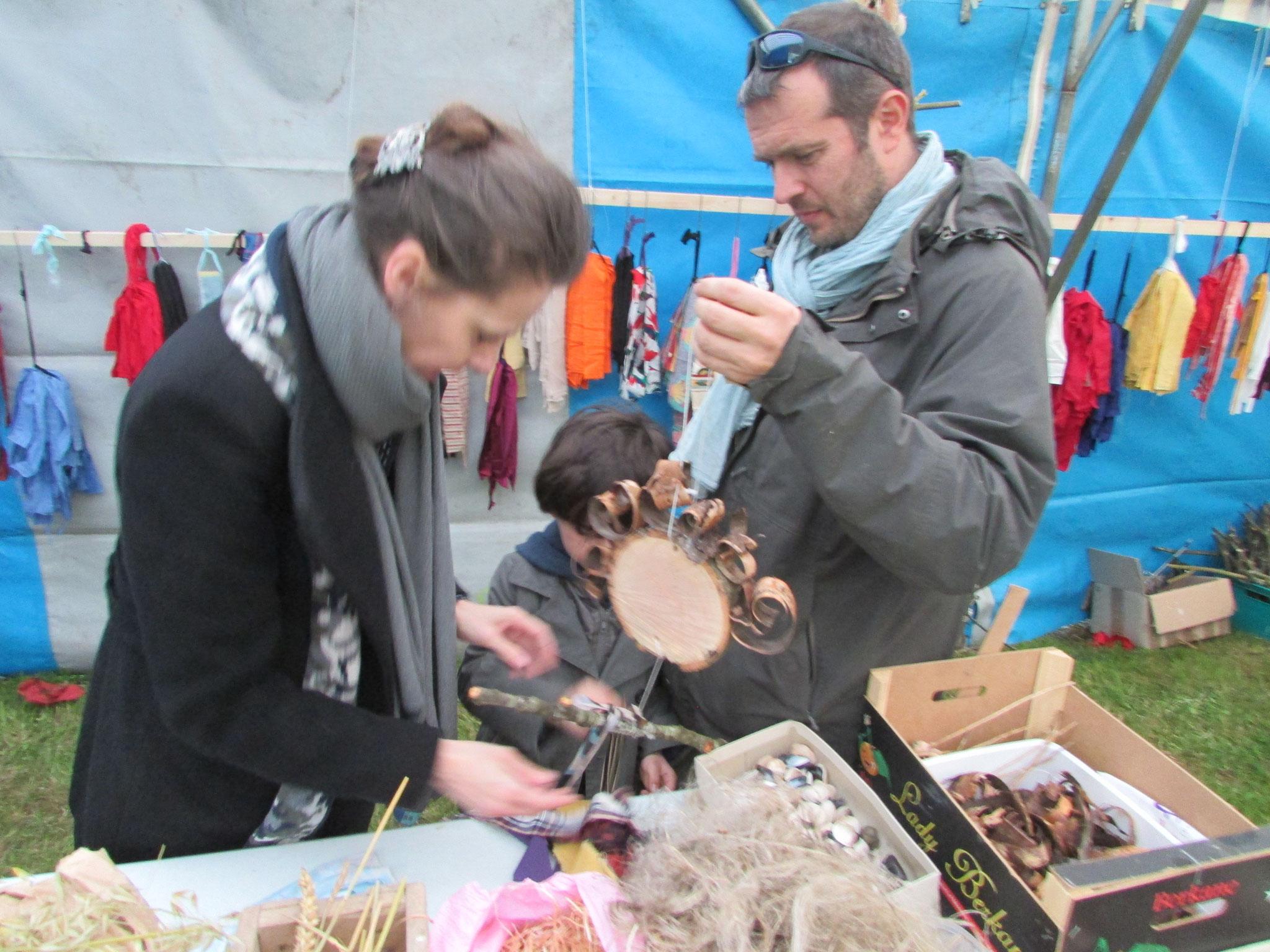 2017 atelier épouvantails