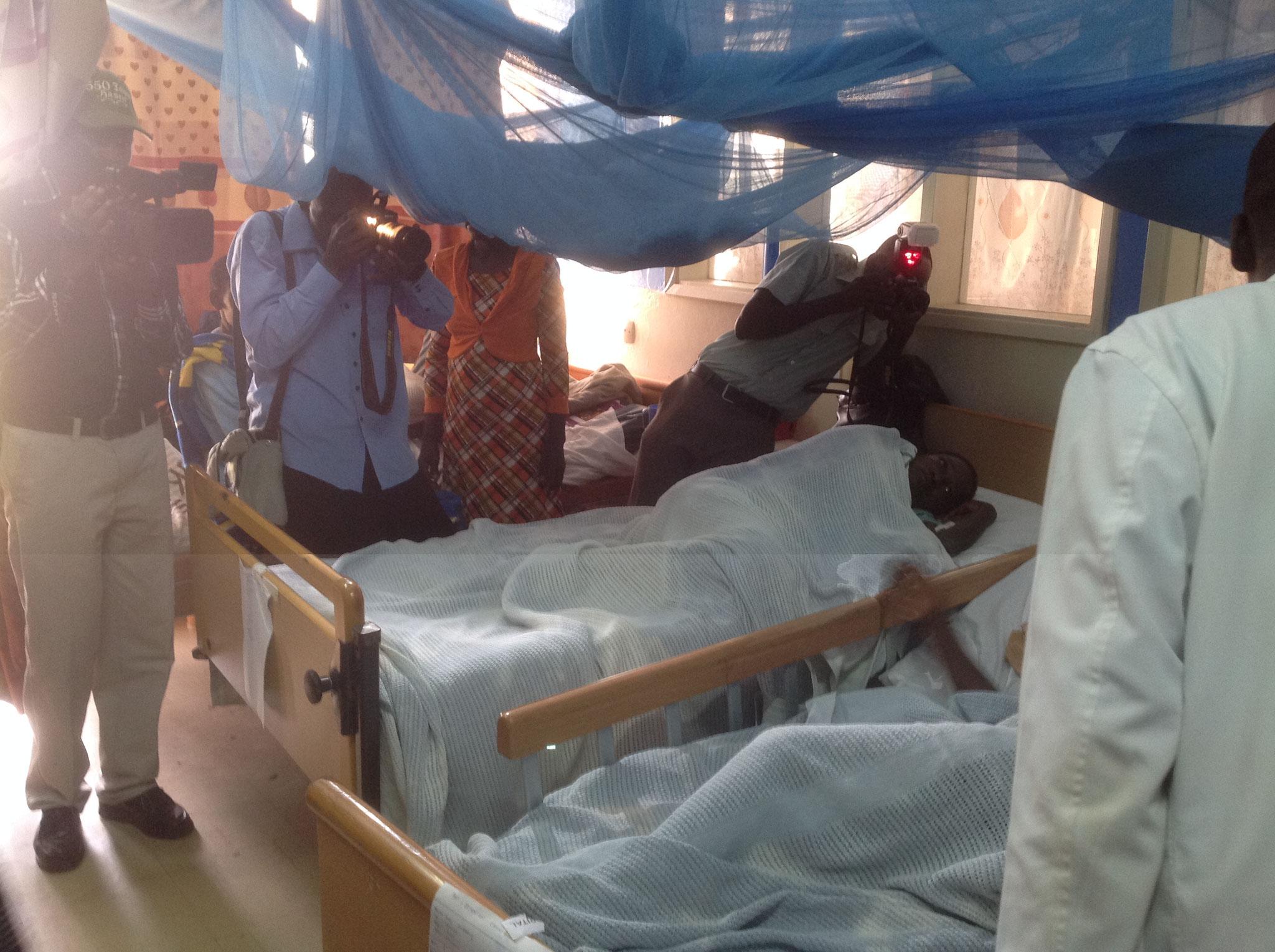 Entbindungsstation im Krankenhaus Kabarnet
