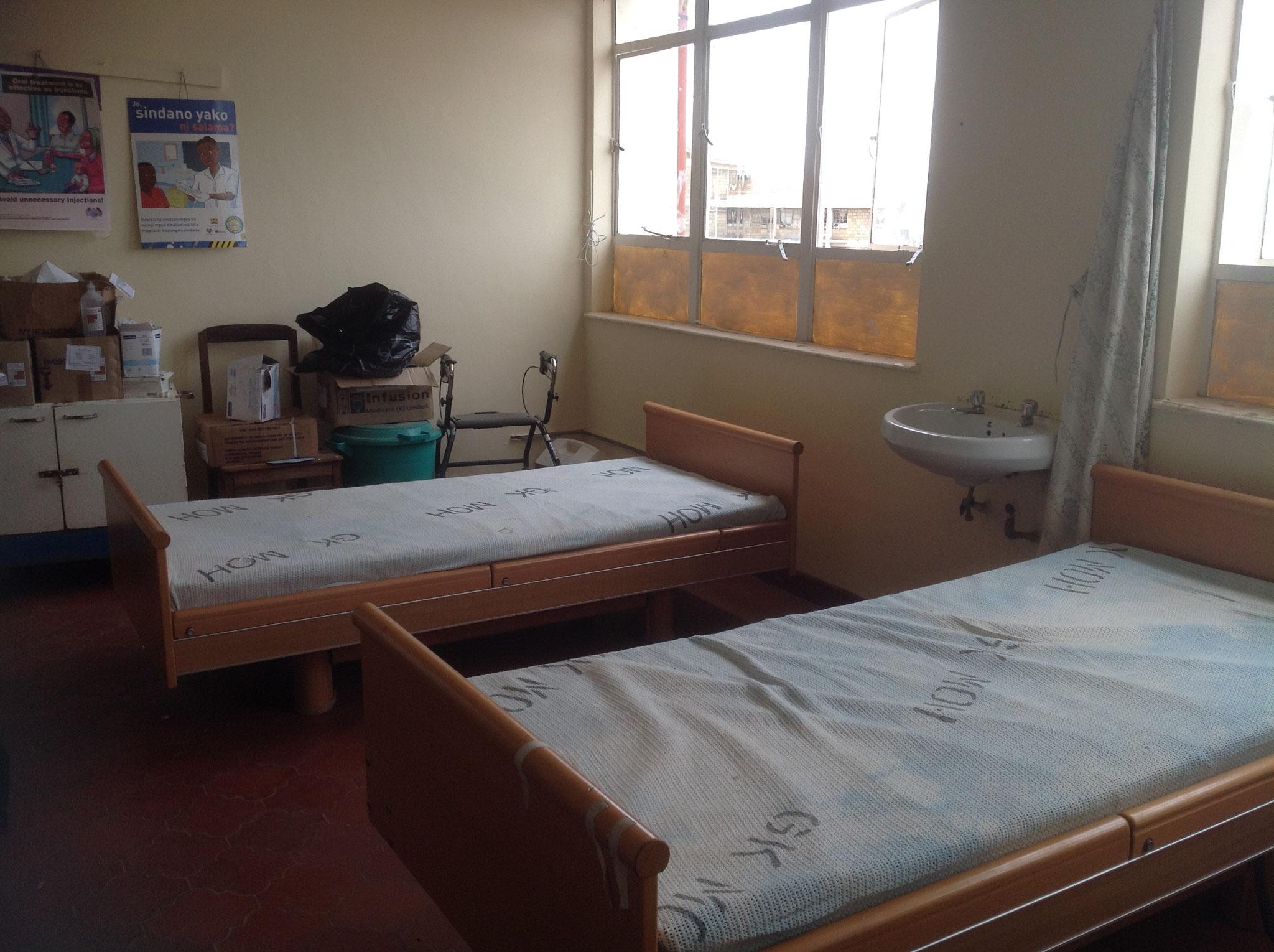 Zweibettzimmer im  neu errichteten Seniorenheim