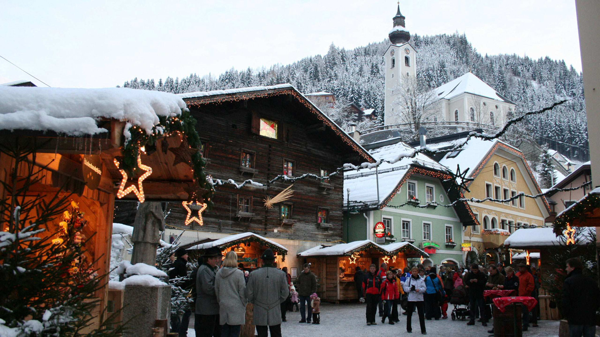 Salzburg Christmas Market.Salzburg Christmas Market Advent Market Salzburger Bergadvent