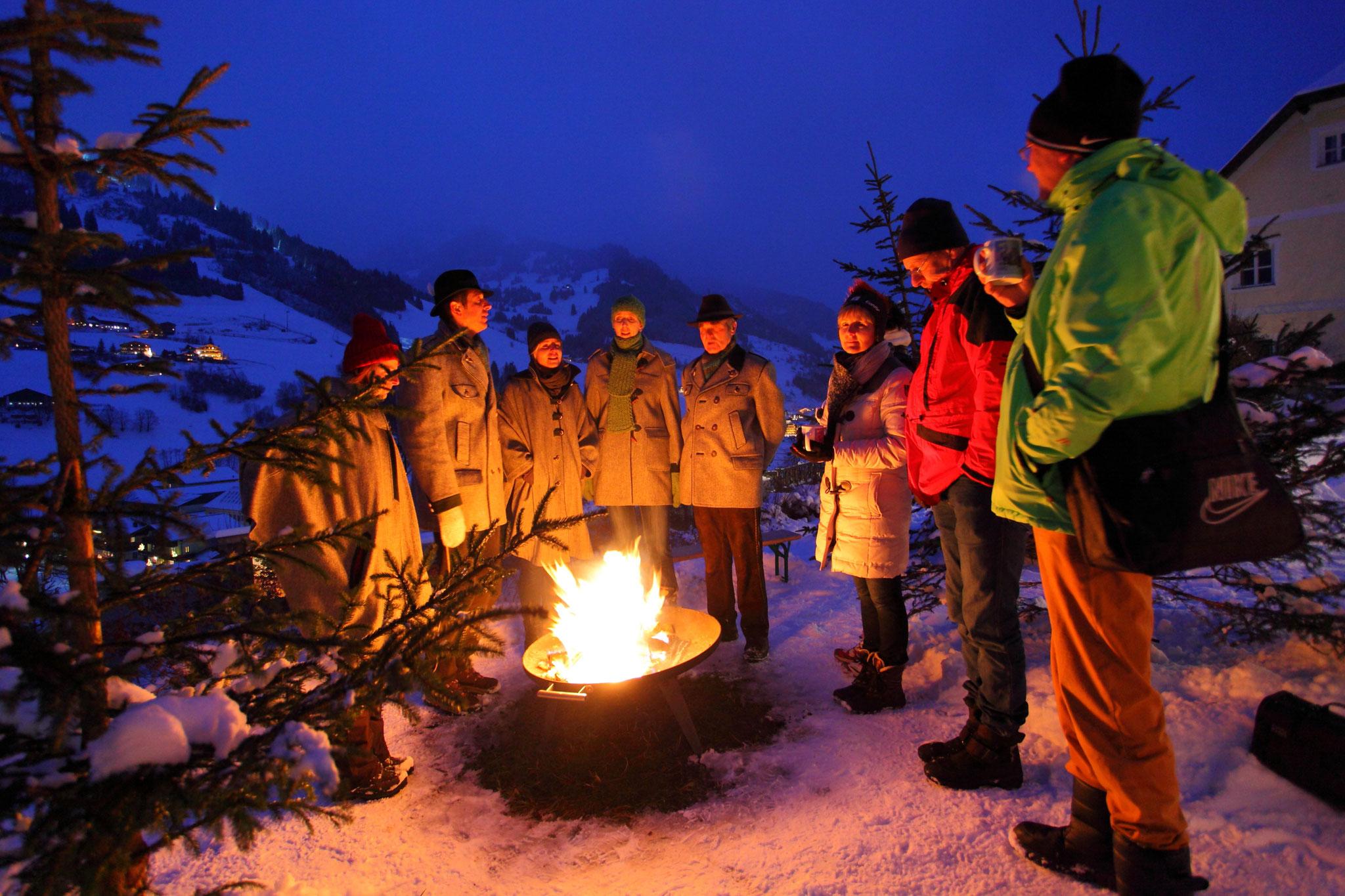 Fackelwanderung beim Salzburger Bergadvent im Großarltal